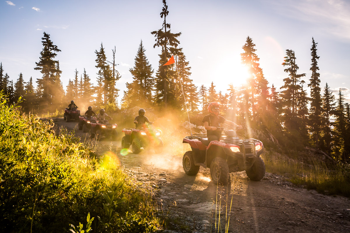 Get Outdoorsy - There is a whole range of outdoor activities in Whistler that you may have never considered. Book your dad in for a day of ATVing, fishing, golfing, or ziplining, to give him the gift of a memorable experience.