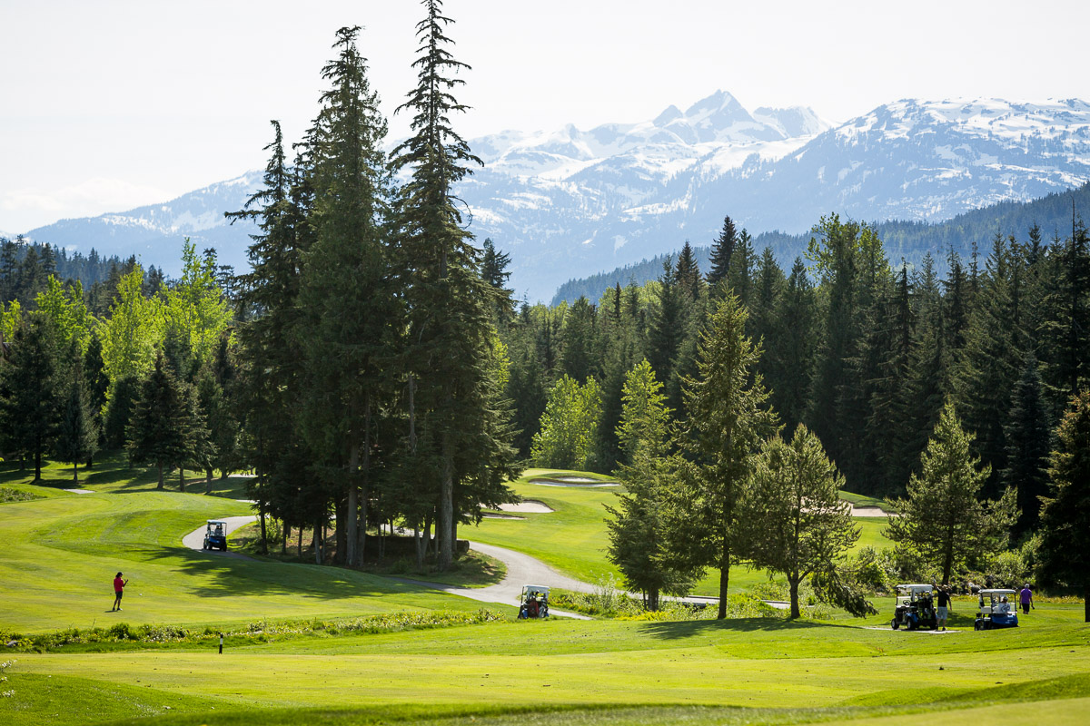 Golfing - Top 5 fathers day ideas Whistler