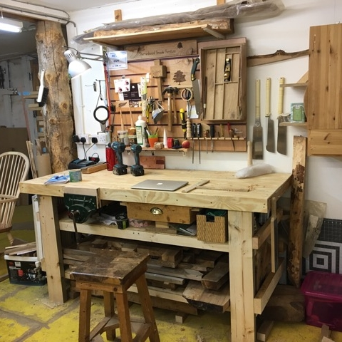 Workshop - My new workshop is now open for business near Haddington, just outside of Edinburgh.  It is fully equipped and ready for me to start making some new bespoke furniture.I've have the space and tools available to make some truly unique pieces!