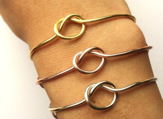 5. Tying the Knot Bracelet - LadyDiJewelry