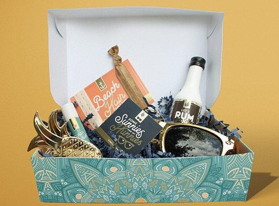 7. Destination Wedding Box - MailboxMelodies