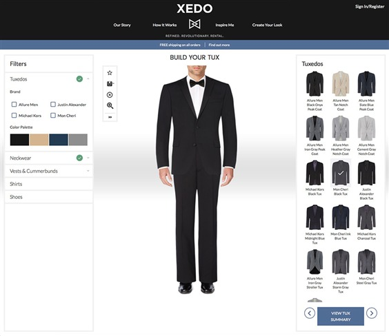 All Images Provided on Xedo.com