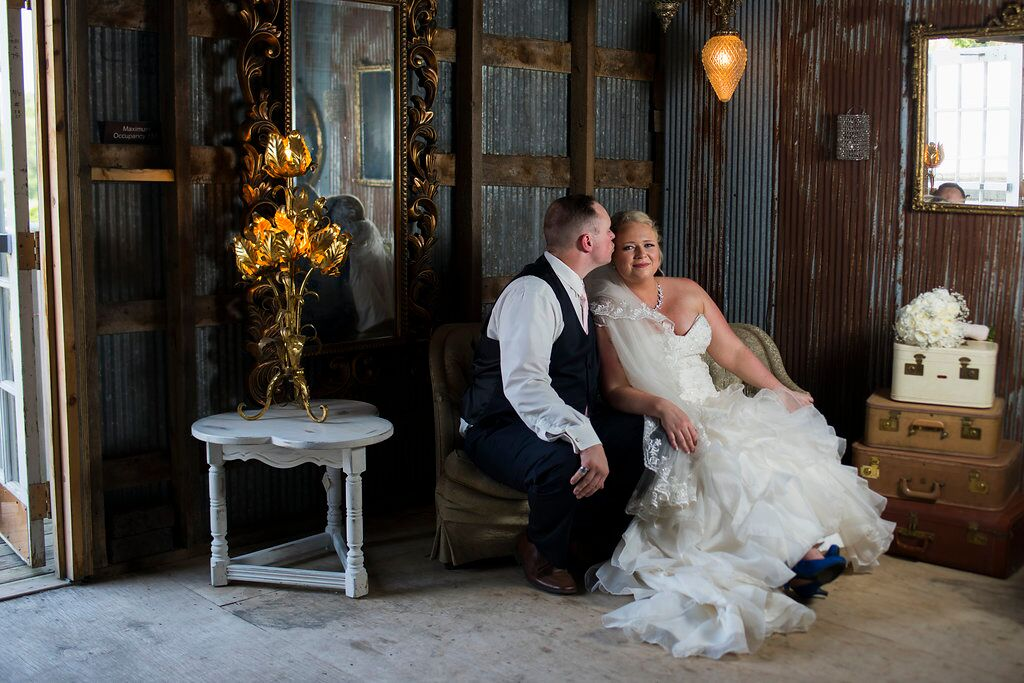 The Barns of  Lost Creek wedding by Angela Divine Photography featured on Destination Wisconsin Wedding Blog