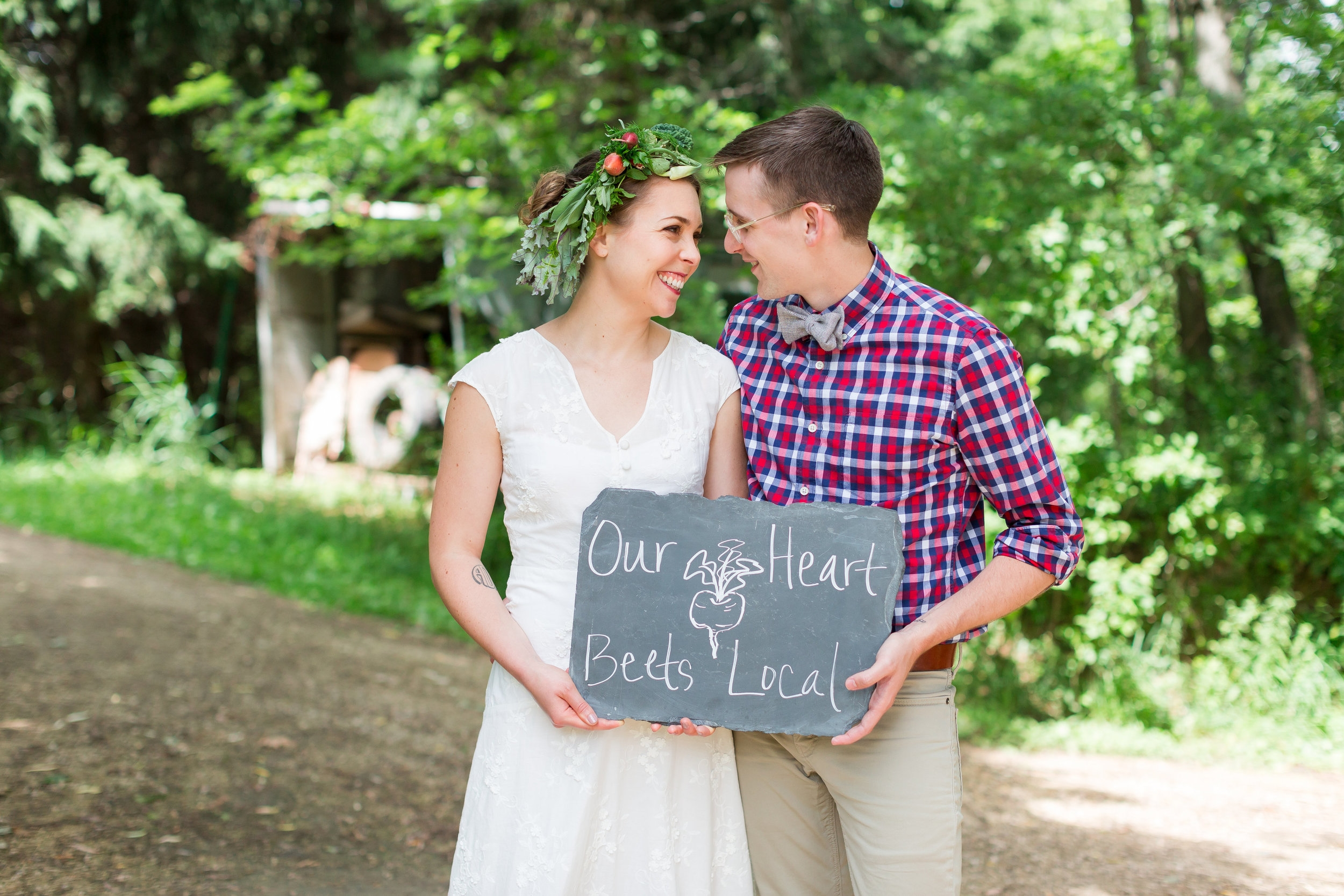 Maison Meredith Photography at Spicer Family Farm and Milkweed featured on Destination Wisconsin Wedding Blog