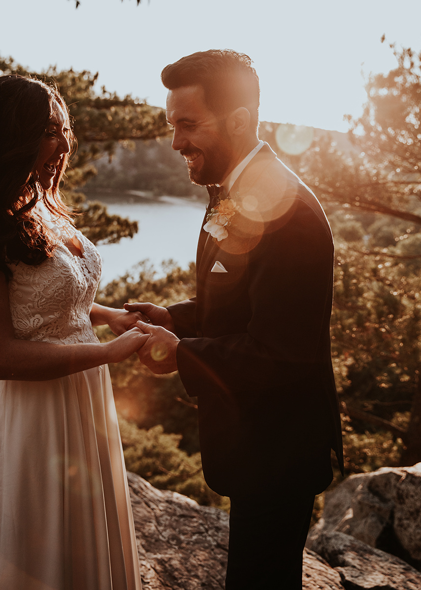 Campground Wedding by Jenna LeRoy for Destination Wisconsin Wedding Blog