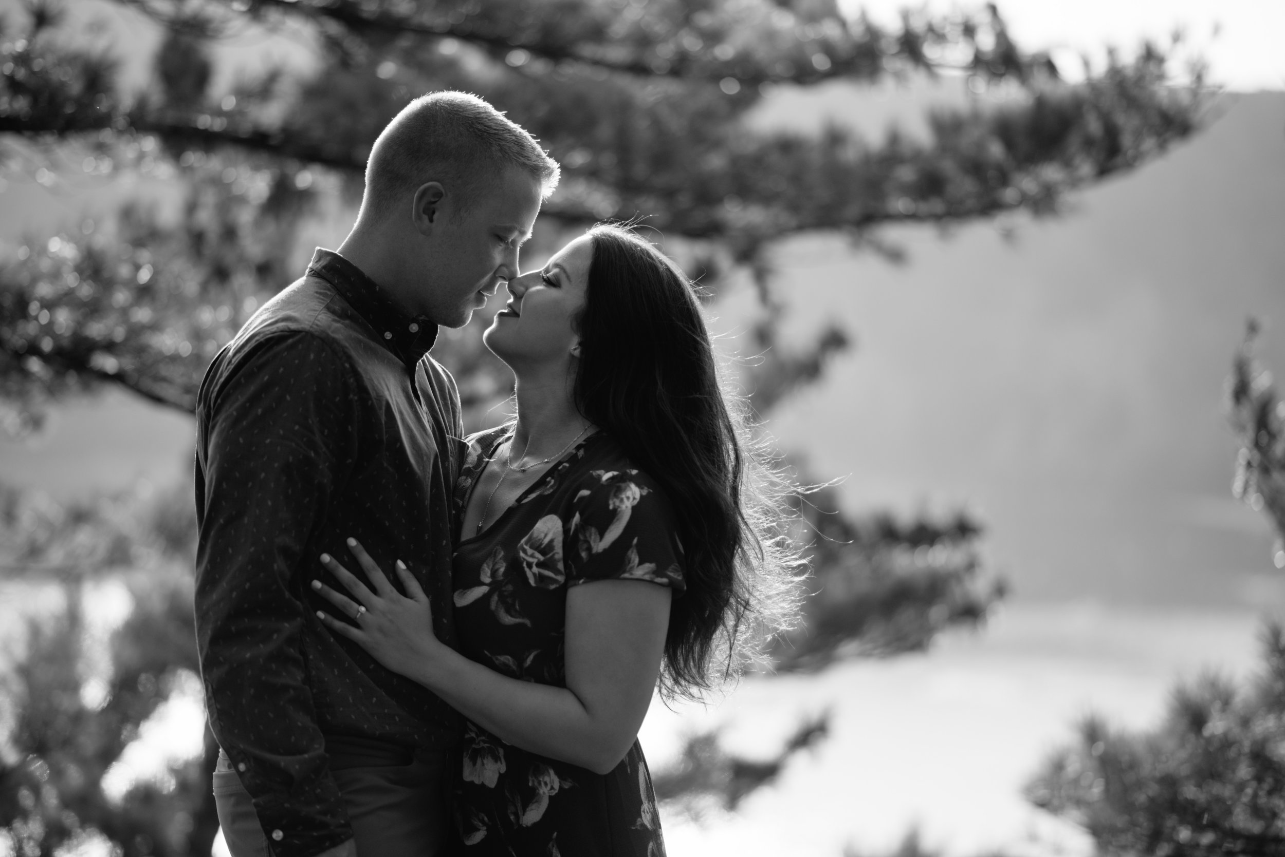 Casey and Connor at Devil's Lake by Ben and Katya Photography for Destination Wisconsin Wedding Blog