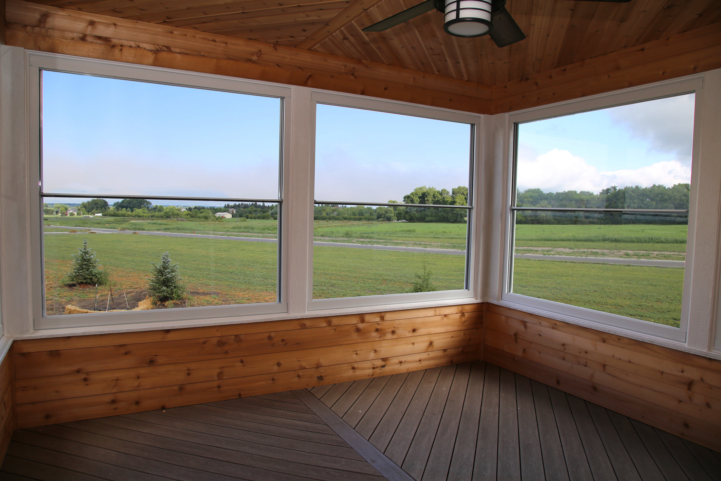 New Expanse Windows in Custom Home   Photo courtesy of Larson Windows & Doors