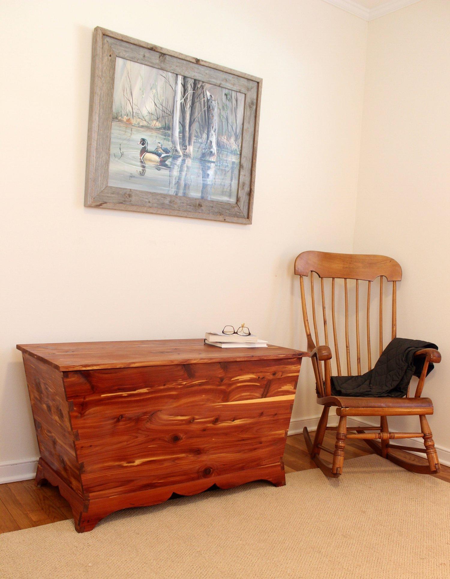 custom cedar blanket hope chest