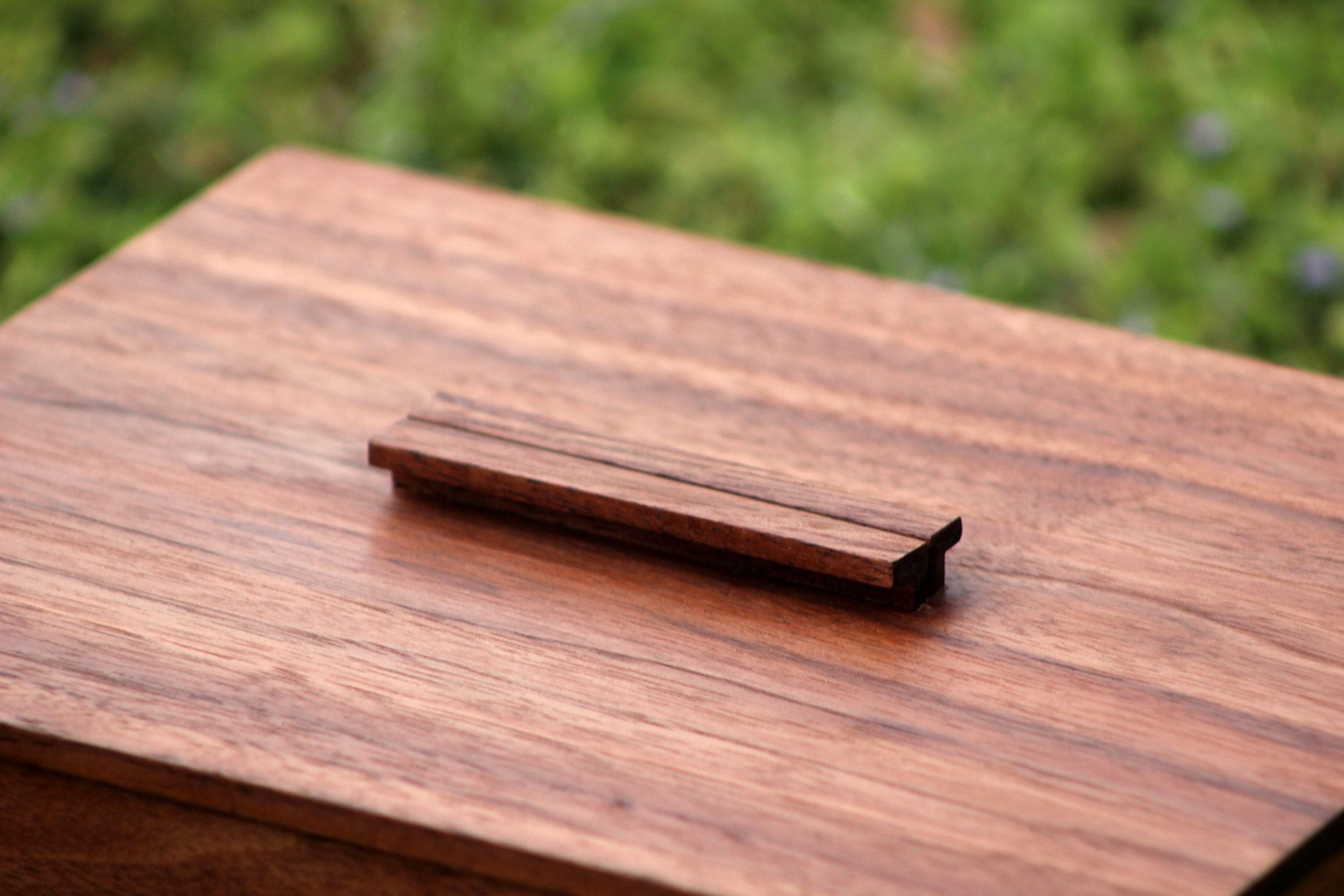 Walnut Bridal Box. custom handmade wooden gifts. wedding gift. sallie plumley studio. custom furniture maker. richmond virginia. rva