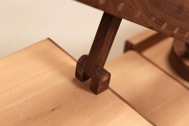Toy Firetruck. wooden handmade gift. wooden truck. sallie plumley studio. richmond virginia.