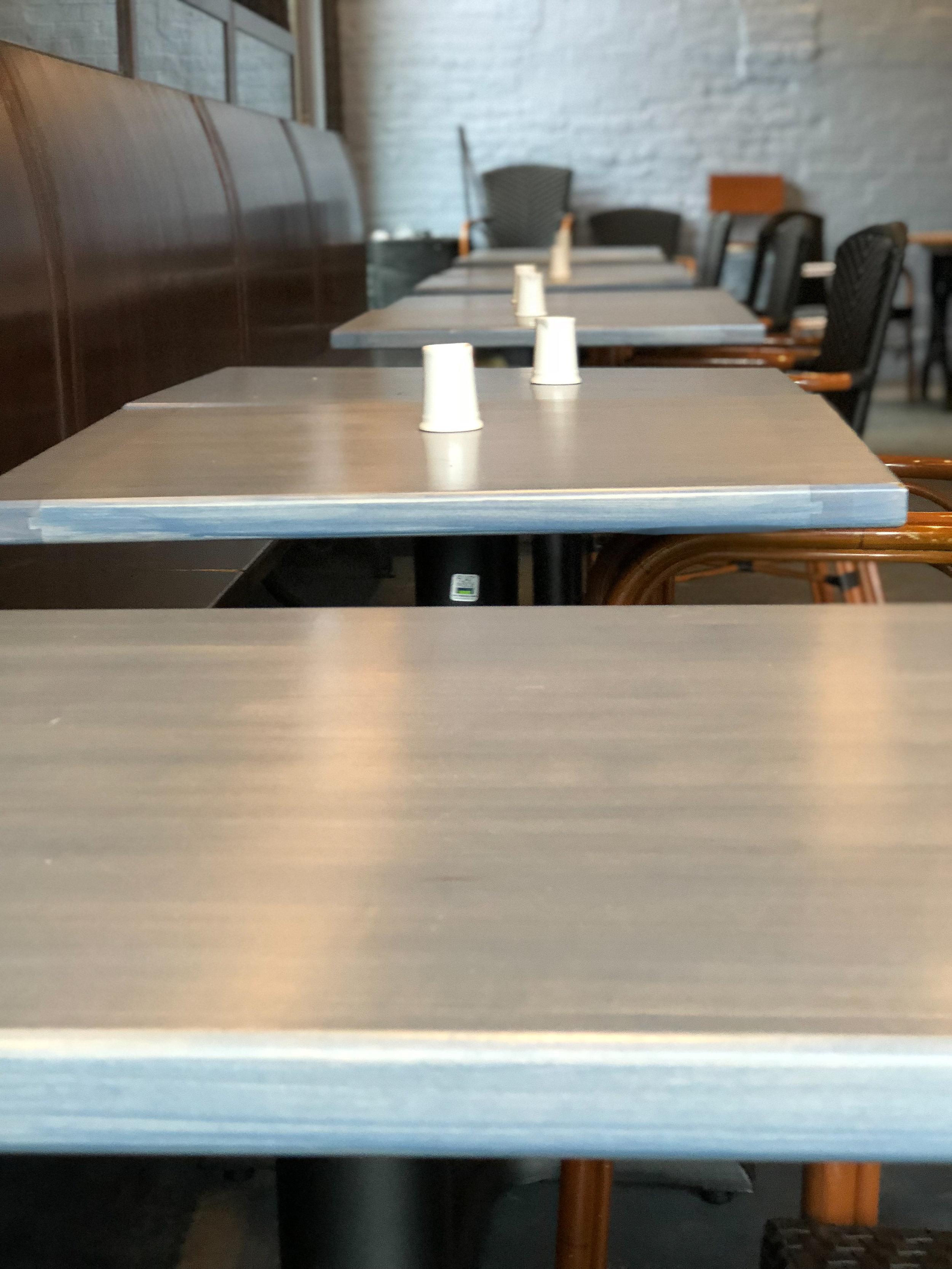 Clang Cafe Coffee Shop Furniture Bar Furniture Sallie Plumley Studio Richmond Virginia Sally Plumley Custom Woodworking and Furniture Design