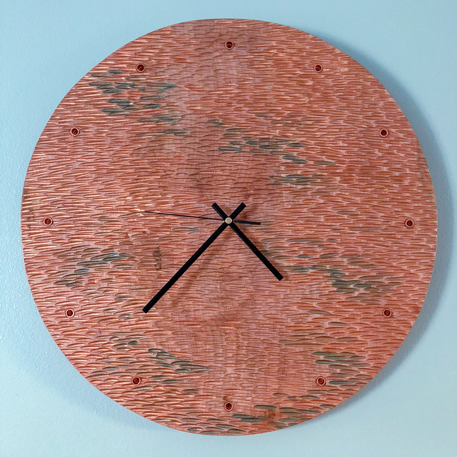 Handcrafted Wall Clocks- Add a little Pizazz to your room!