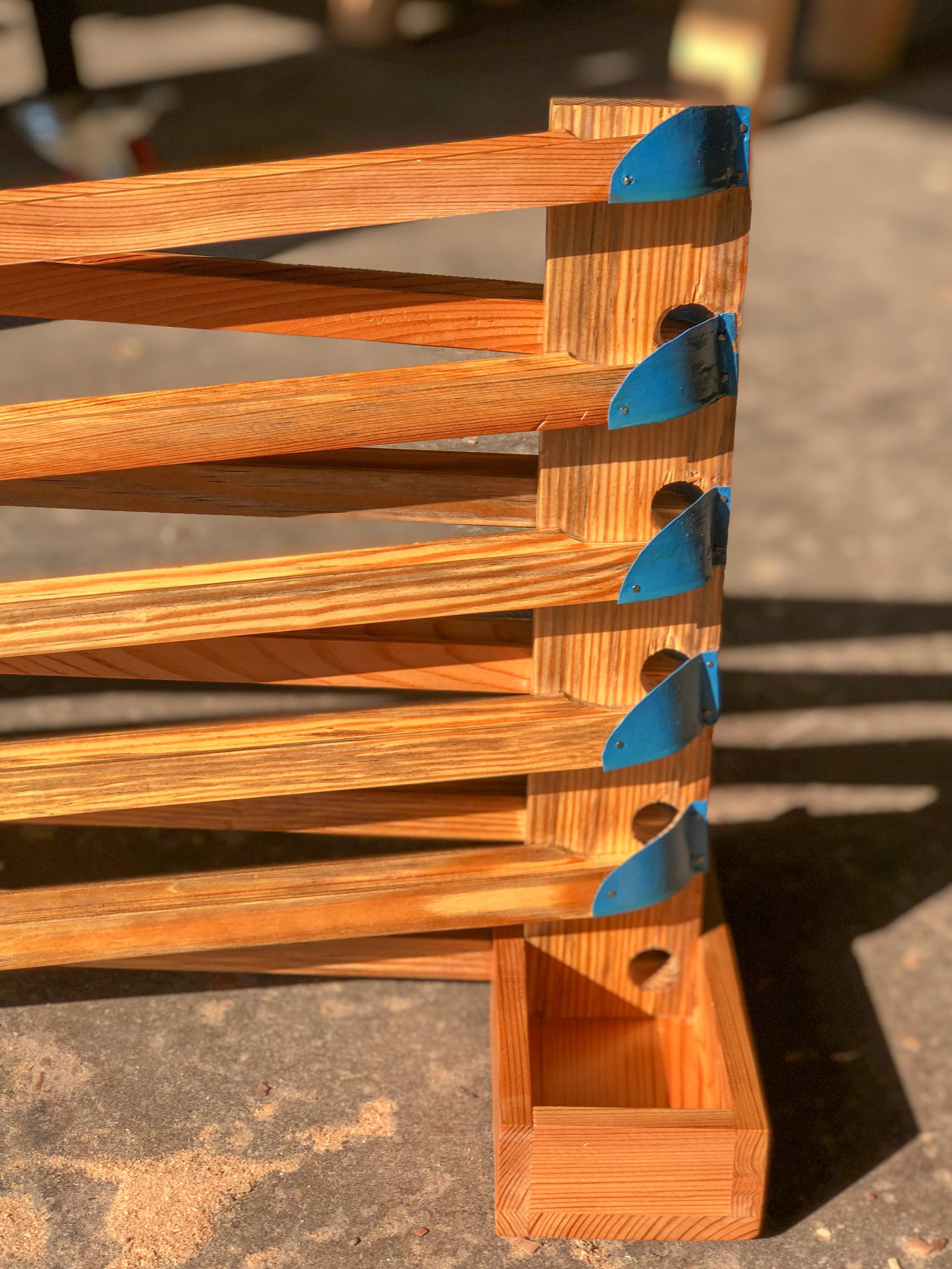 Wooden Marble Run. Handmade Wooden Toys from Richmond, Virginia. Sallie Plumley Studio