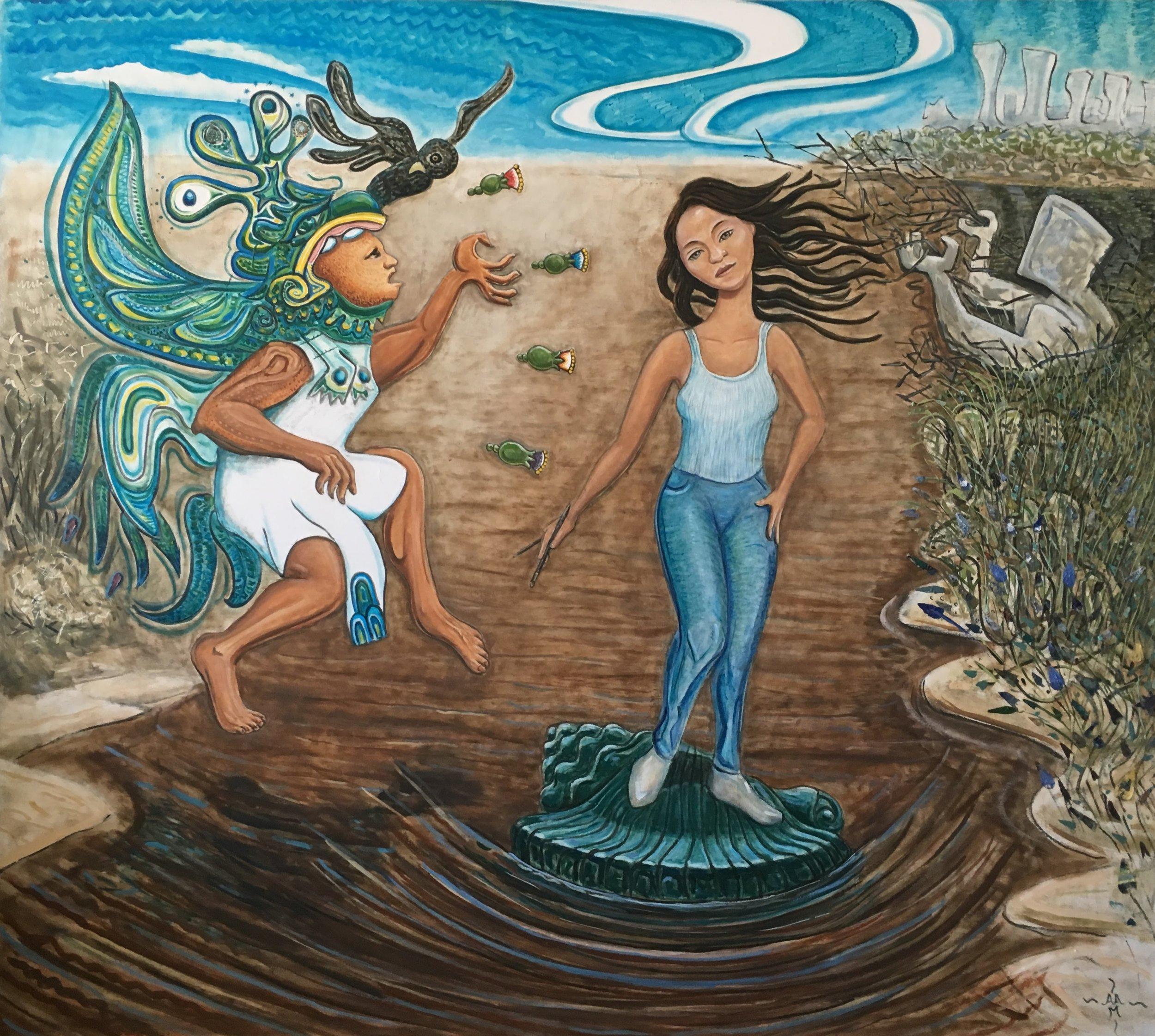 Venus Xrusando el Rio Grande