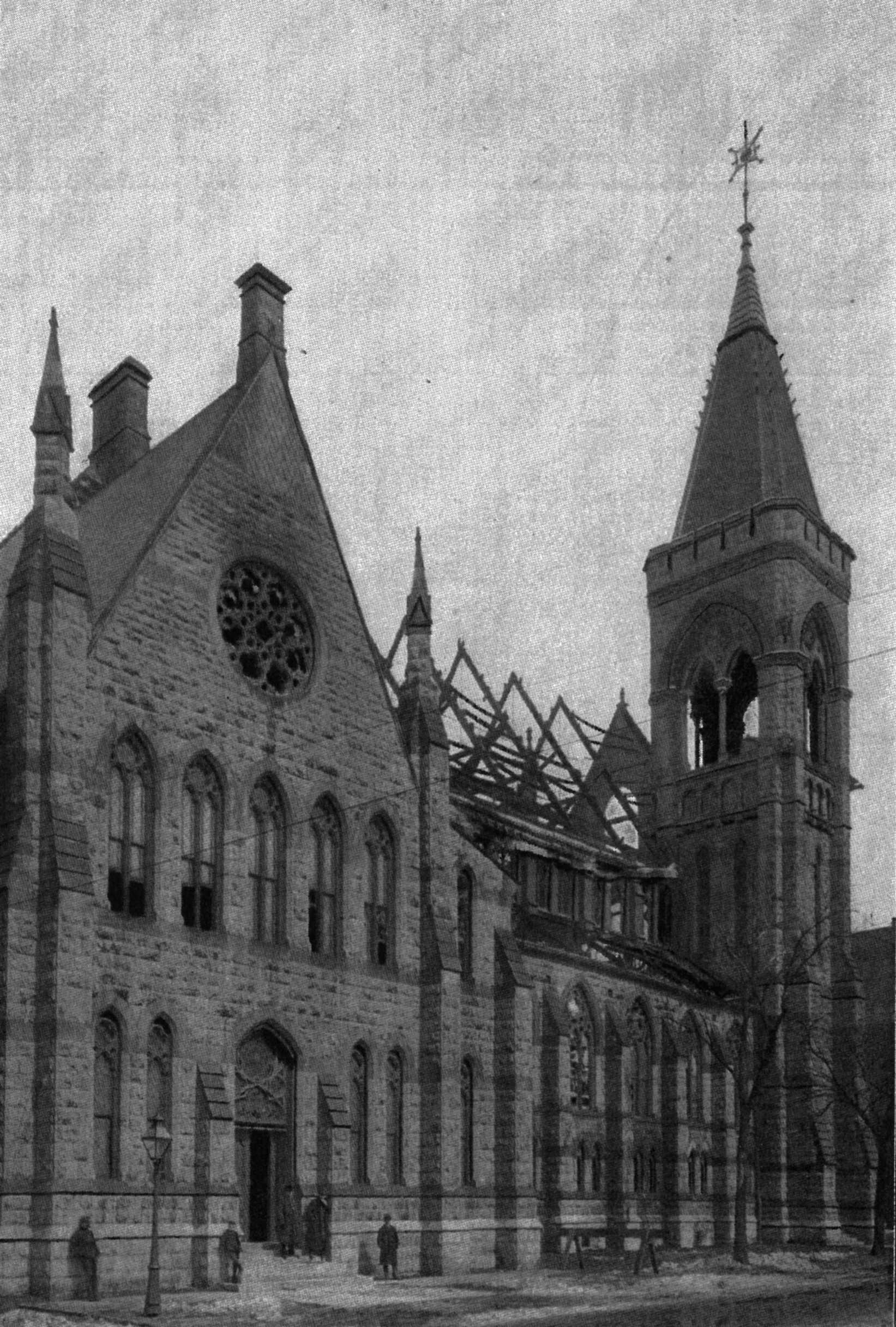 Devastation after 1900 fire