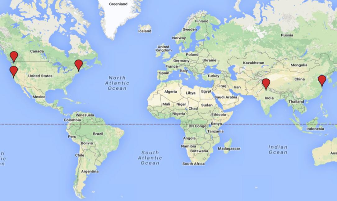 Eco-Audit is international! - Shanghai, China        Seattle, WA, USANew Delhi, India       San Rafael, CA, USA