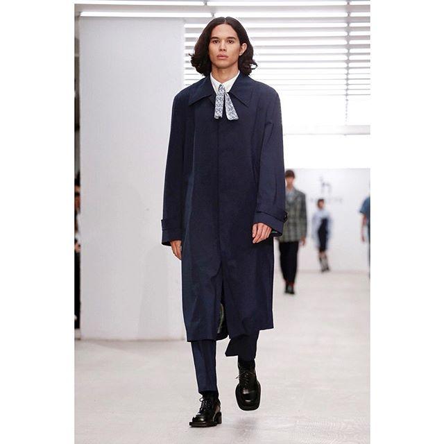 Arnaud for Hazzy's SS20 Ready to Wear! 👏 @hazzys_official @haizhenwang @arnaudlin  Styling by @lucy.bower  Casting by @chloerosolekcasting  @britishfashioncouncil @londonfashionweek  #niiagency #nii #LFW #ss20