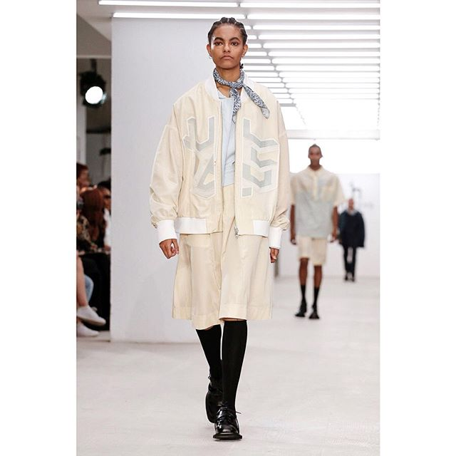 Daniella for Hazzy's SS20 Ready to Wear! 👏 @hazzys_official @haizhenwang @d___anni_  Styling by @lucy.bower  Casting by @chloerosolekcasting  @britishfashioncouncil @londonfashionweek  #niiagency #nii #LFW #ss20 📷 @regiscolinberthelier @nowfashion