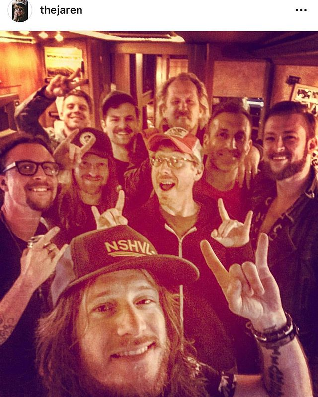What a weekend writing songs with @lukedick @joeyhyde @thejaren and @neildmason and getting to hear @republican_hair and @thecadillac3 in Chicago and Milwaukee.