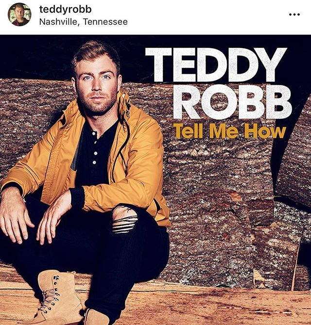 "I wrote a song called ""Tell Me How"" with my dear friend @teddyrobb and @aaroneshuis that's out in the world, now."
