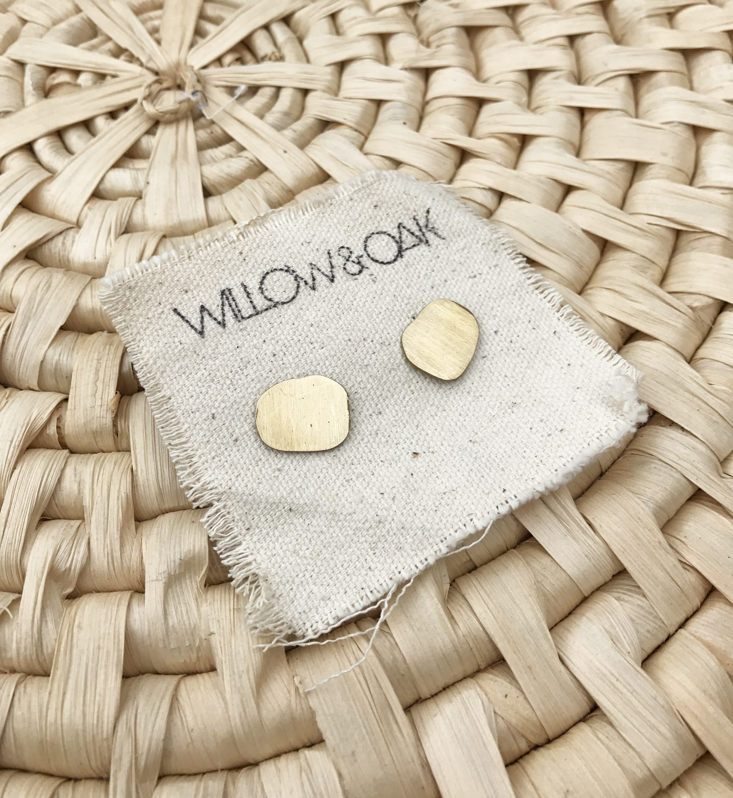Oval Studs by Willow and Oak