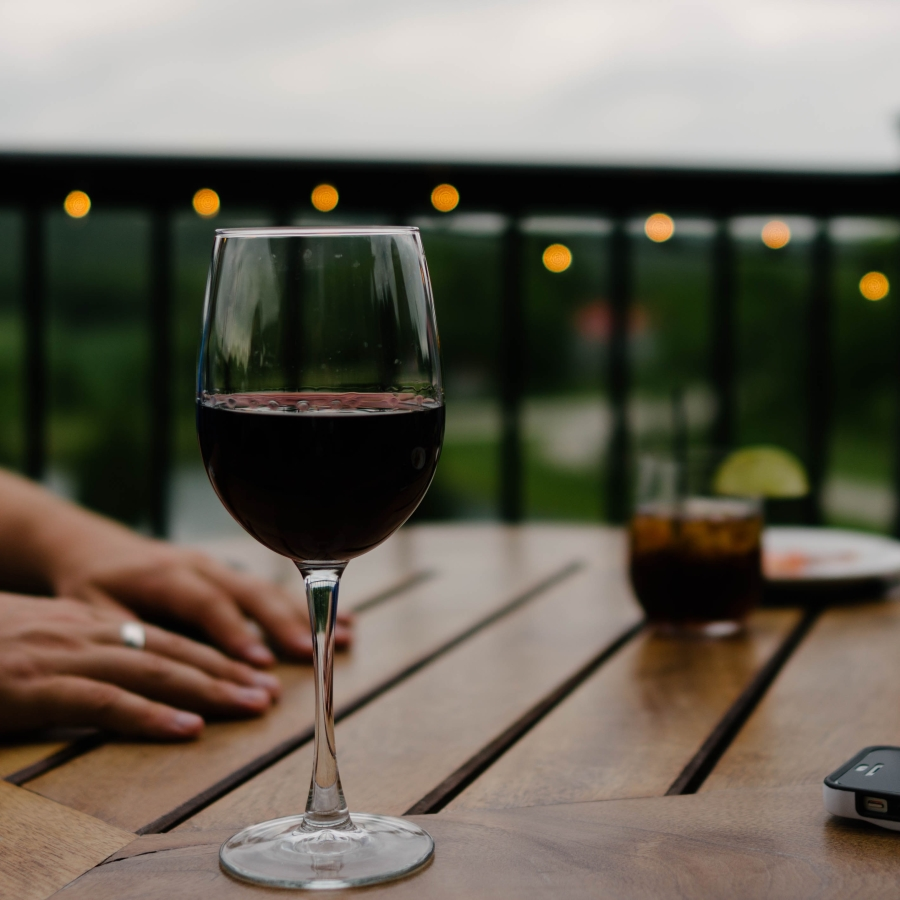 End the day with a glass of Washington wine.