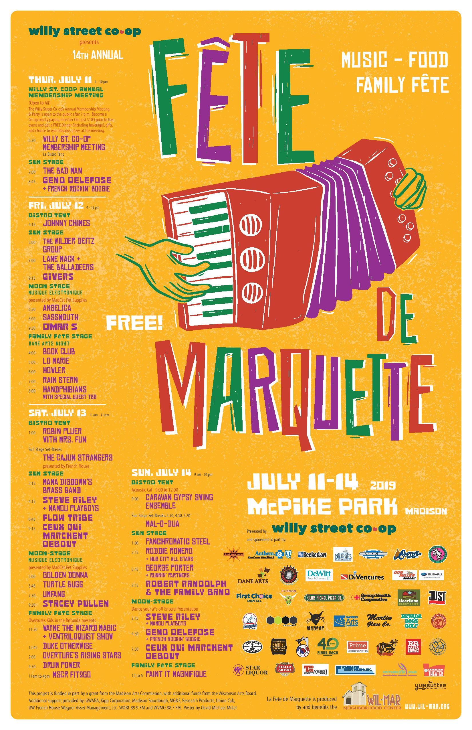 Fete de Marquette — Wil-Mar Neighborhood Center