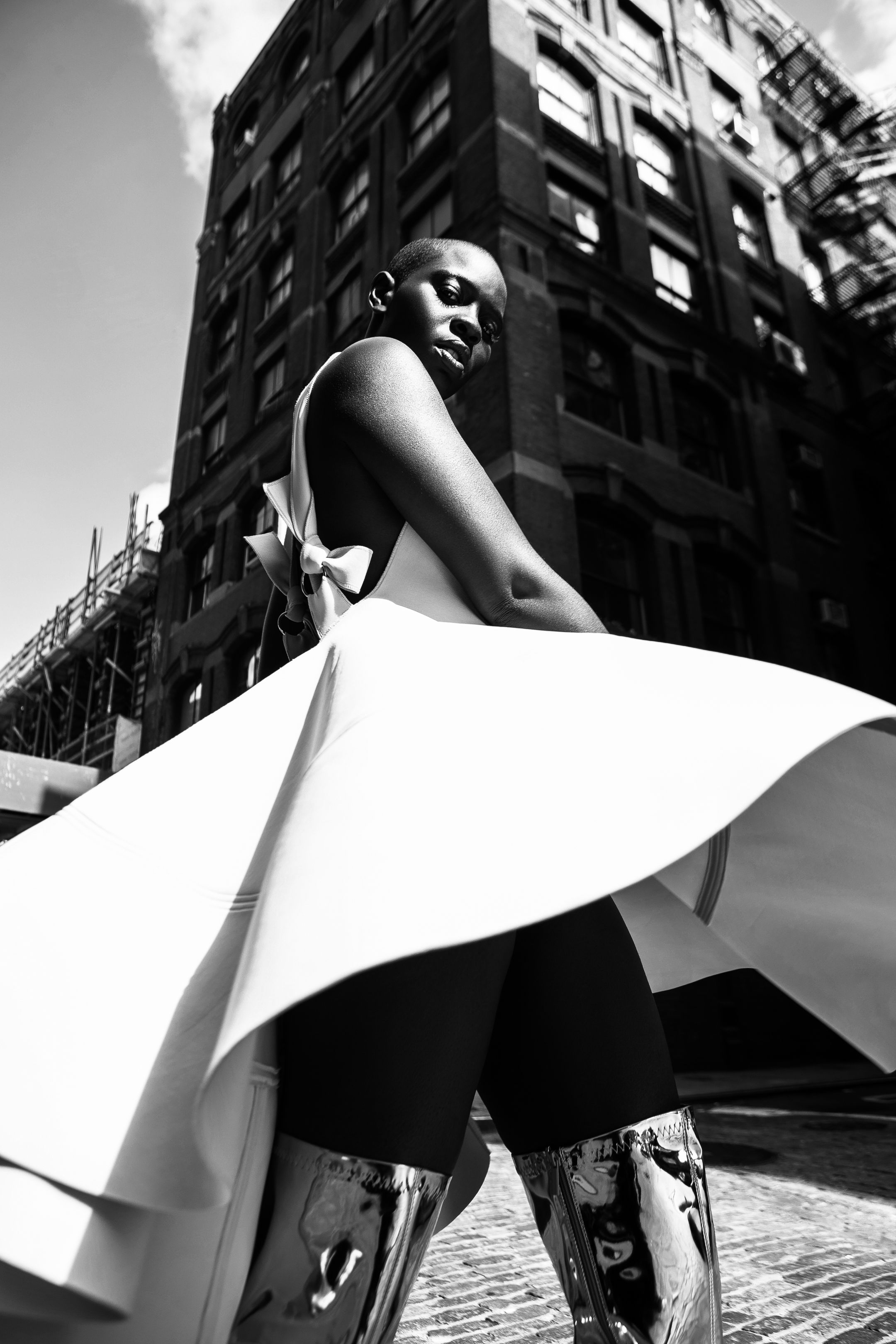 AFRICAN MODEL STREET NYC 2