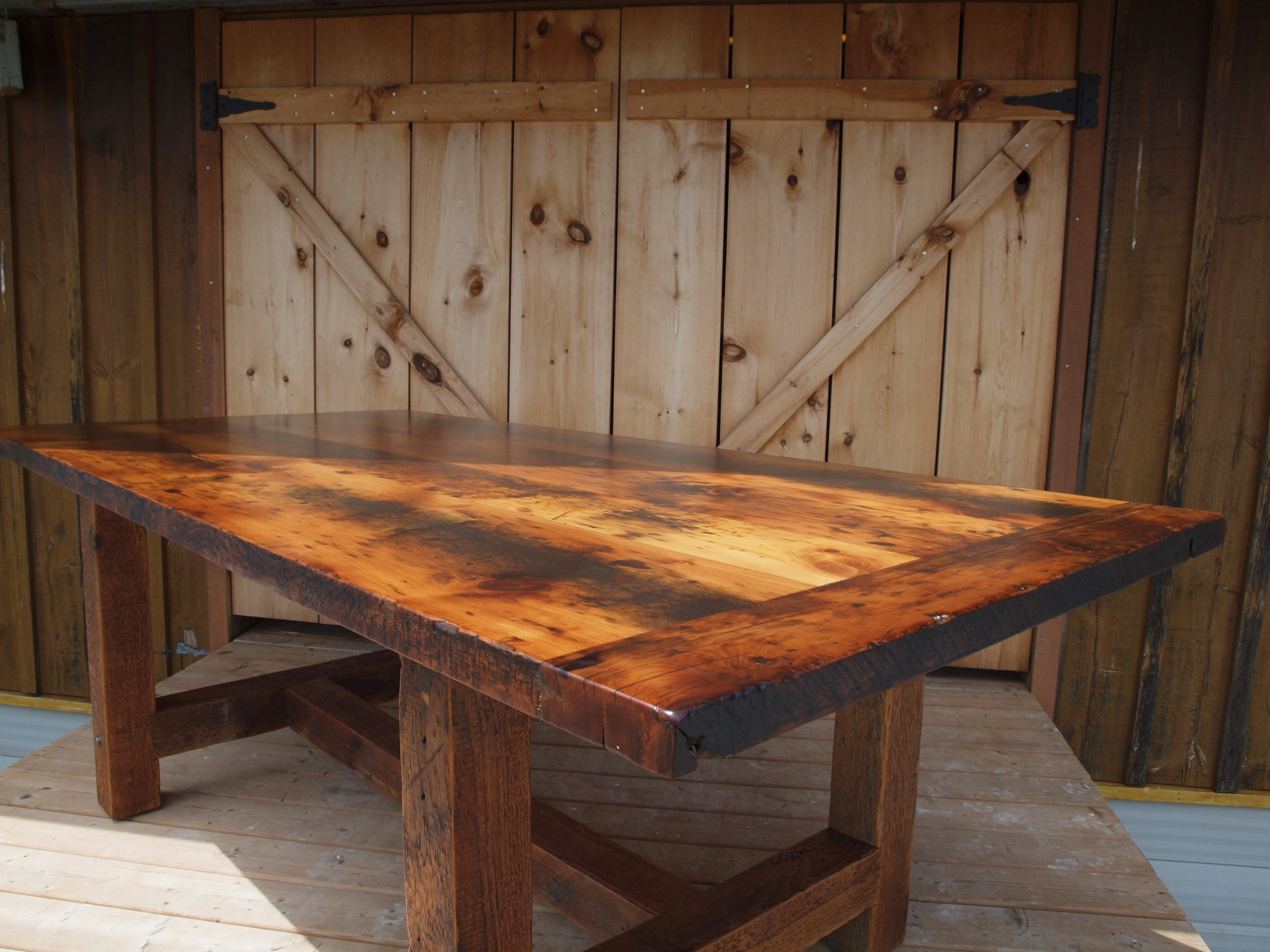 THRESHINGFLOOR TABLE - A Table Created from the Unique Heritage of Southern Ontario Barns.