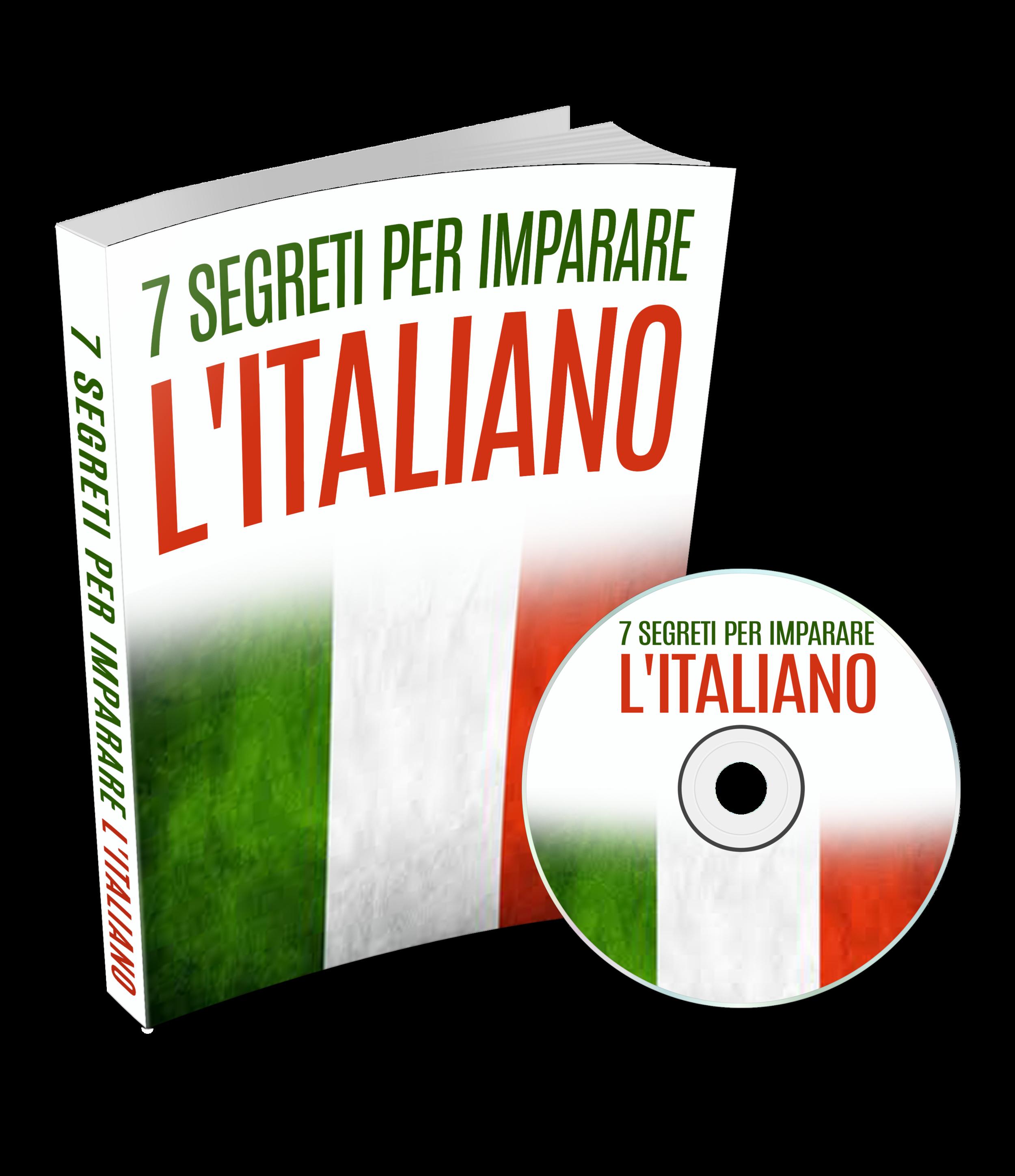 7 segreti per imparare l'italiano - Voglio aumentare il mio vocabolario e la mia comprensione in Italiano: