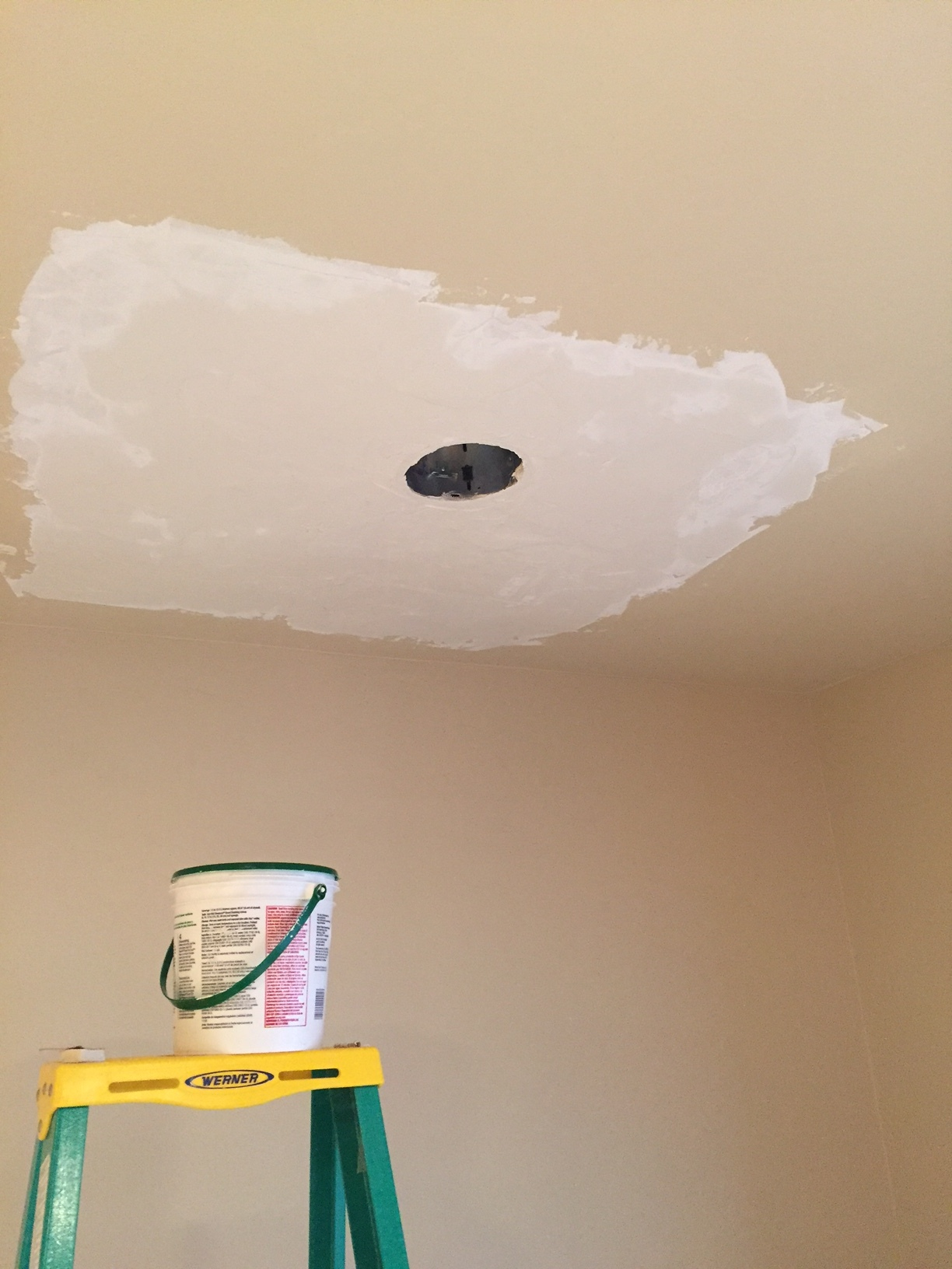 "Ceiling Water Damage ""In Process"""