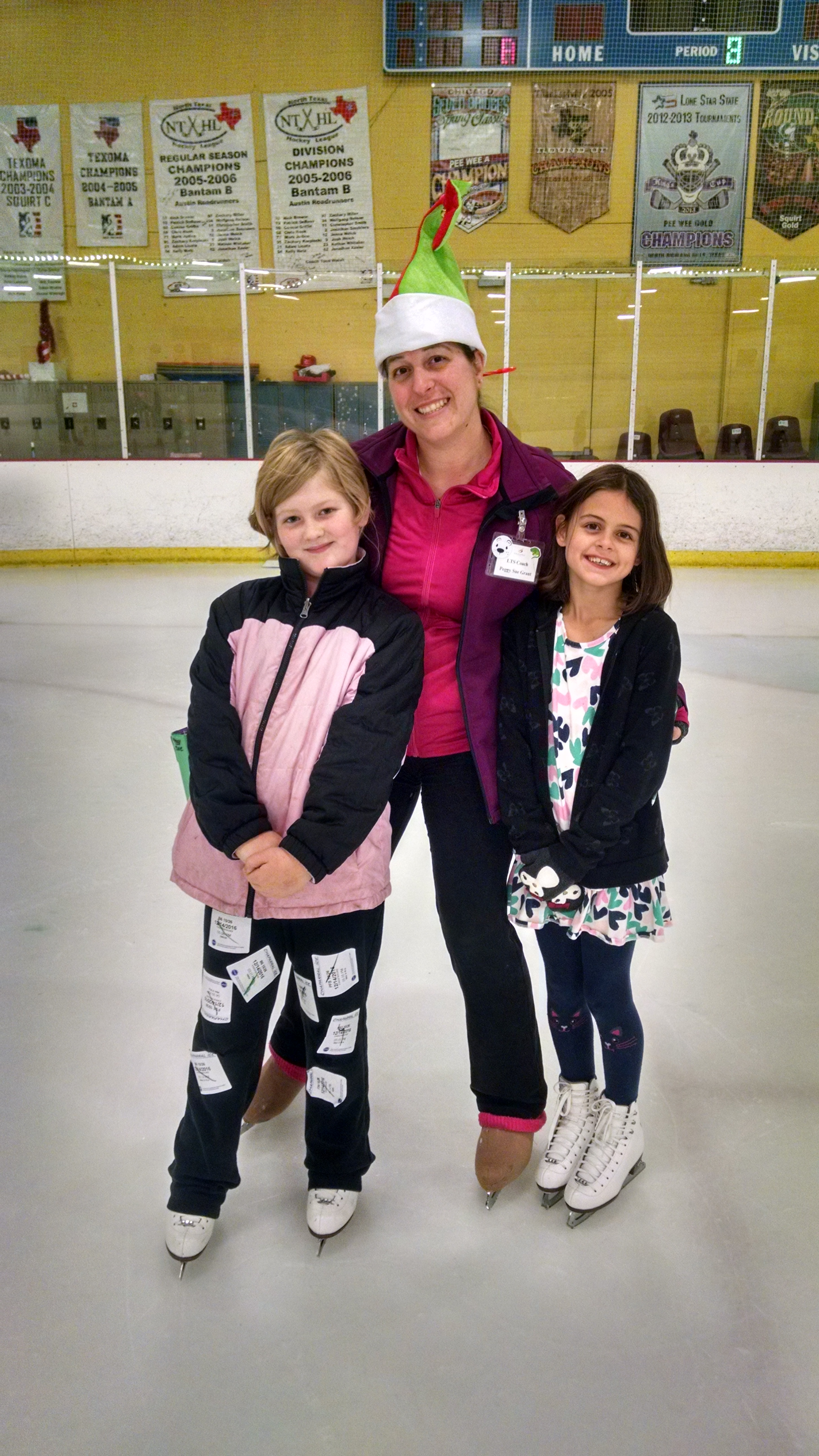 Peggy Sue and graduating skaters 1.jpg