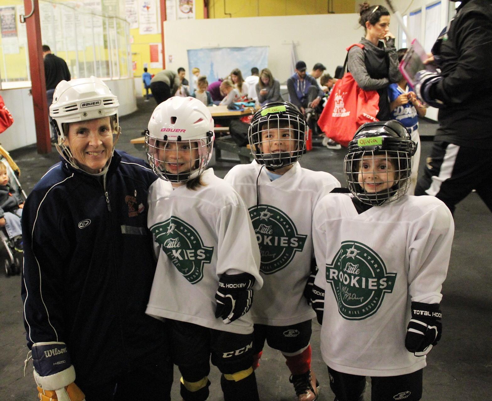 Lil Rookie Coach with kids.jpg