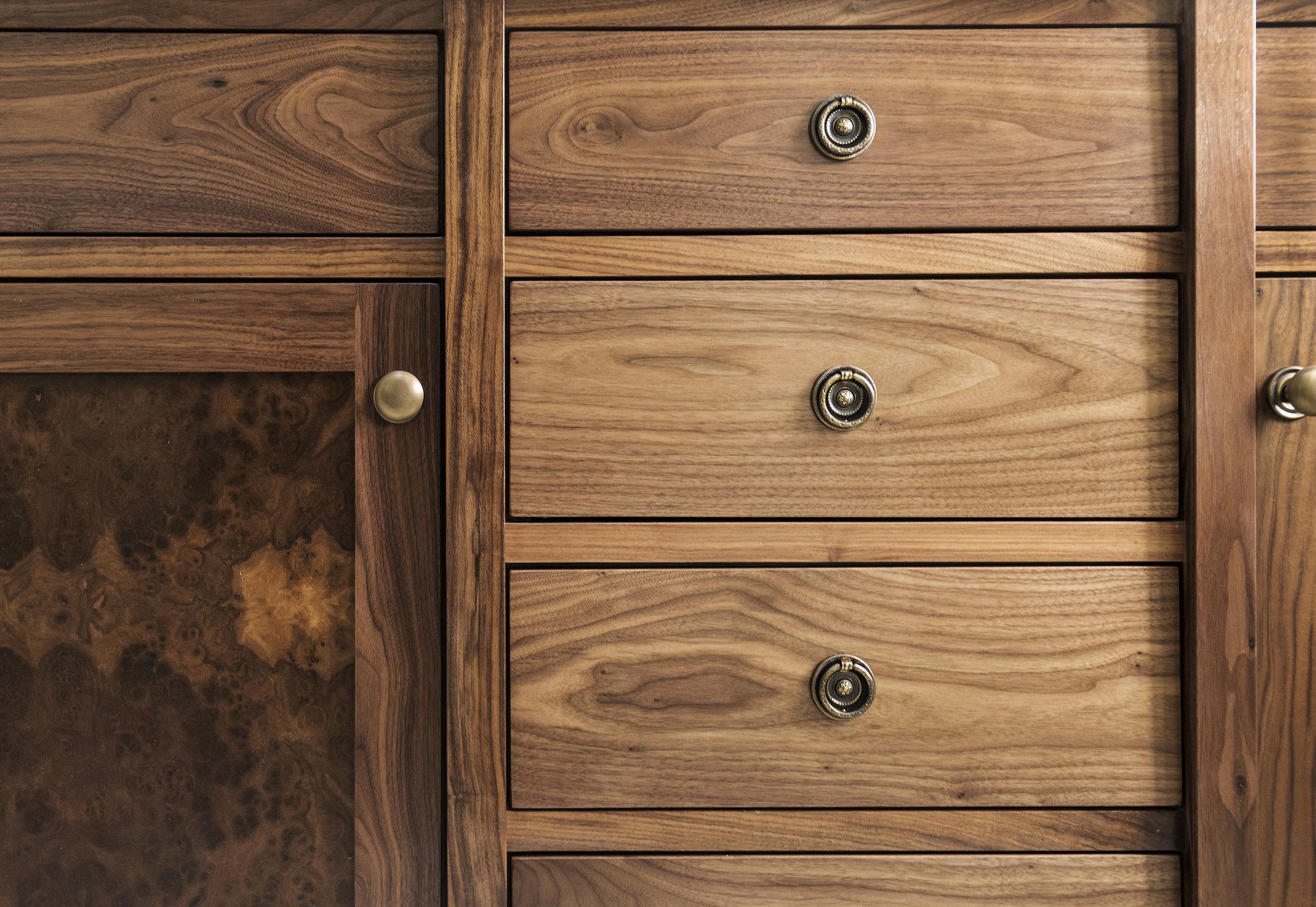 Cabinet design by Jenni Leasia Interior Design in Portland