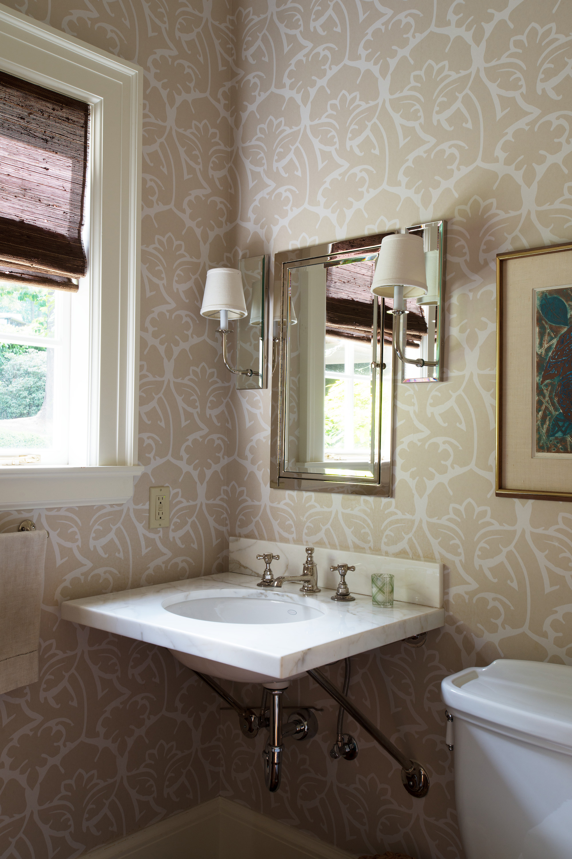 Bathroom interior design by Jenni Leasia Interior Design in Portland