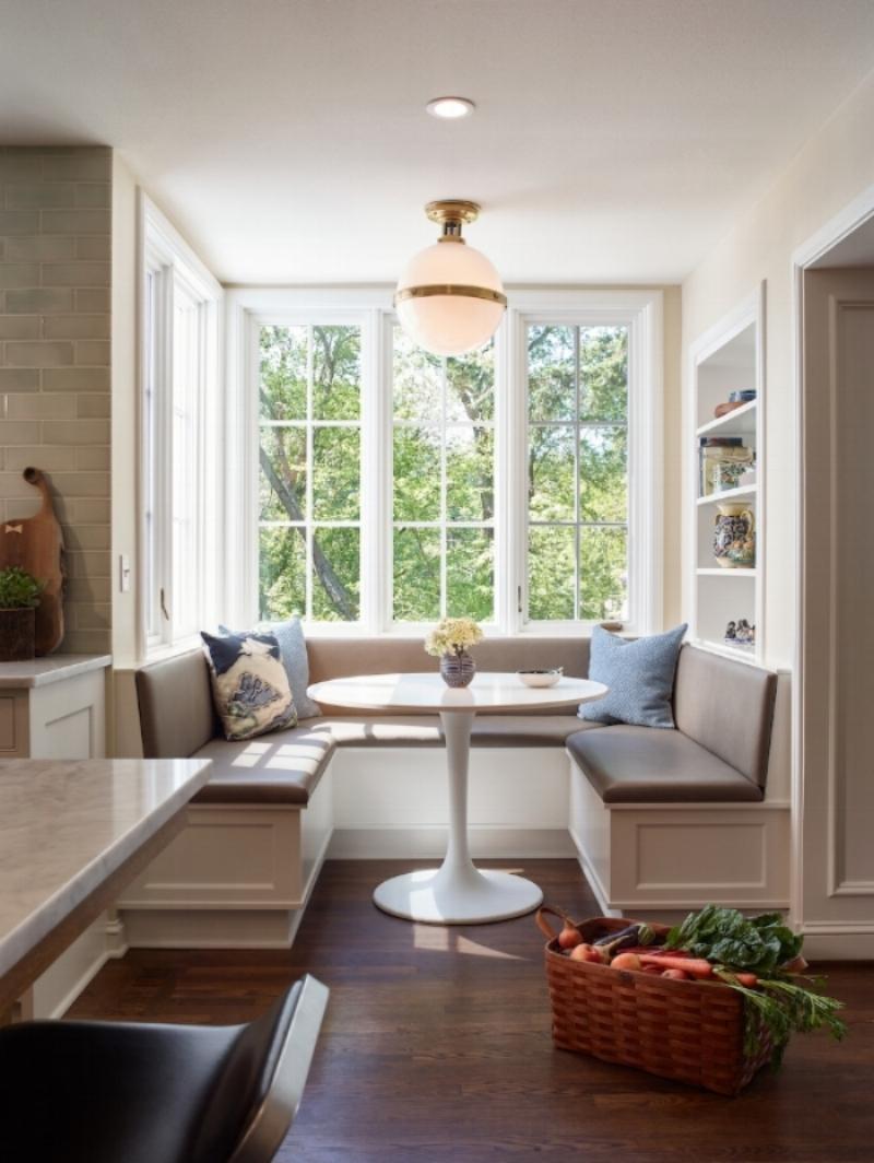 Seating area design by Jenni Leasia Interior Design in Portland