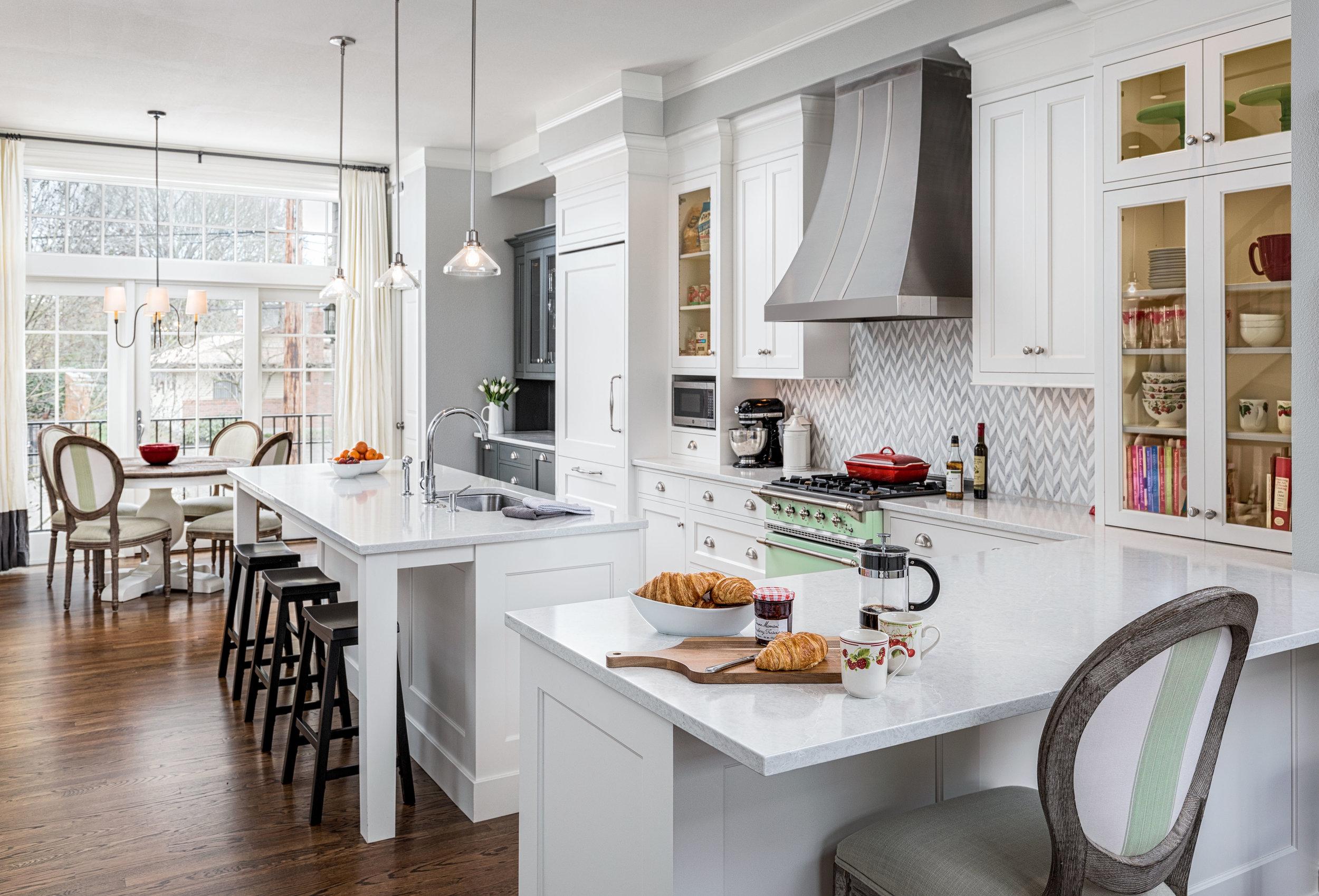 Portland kitchen design by Jenni Leasia Interior Design