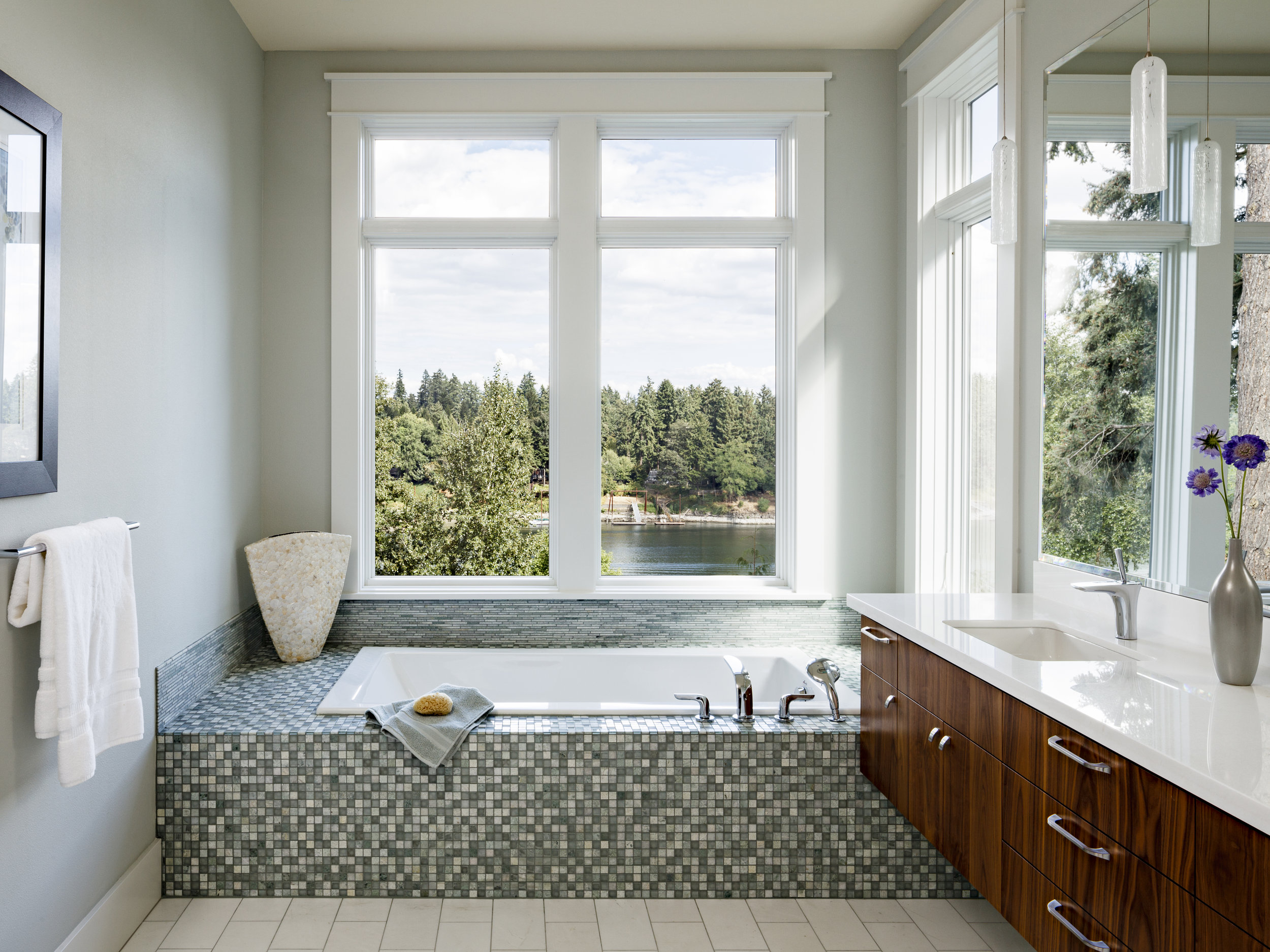 Lake Oswego Master Bath