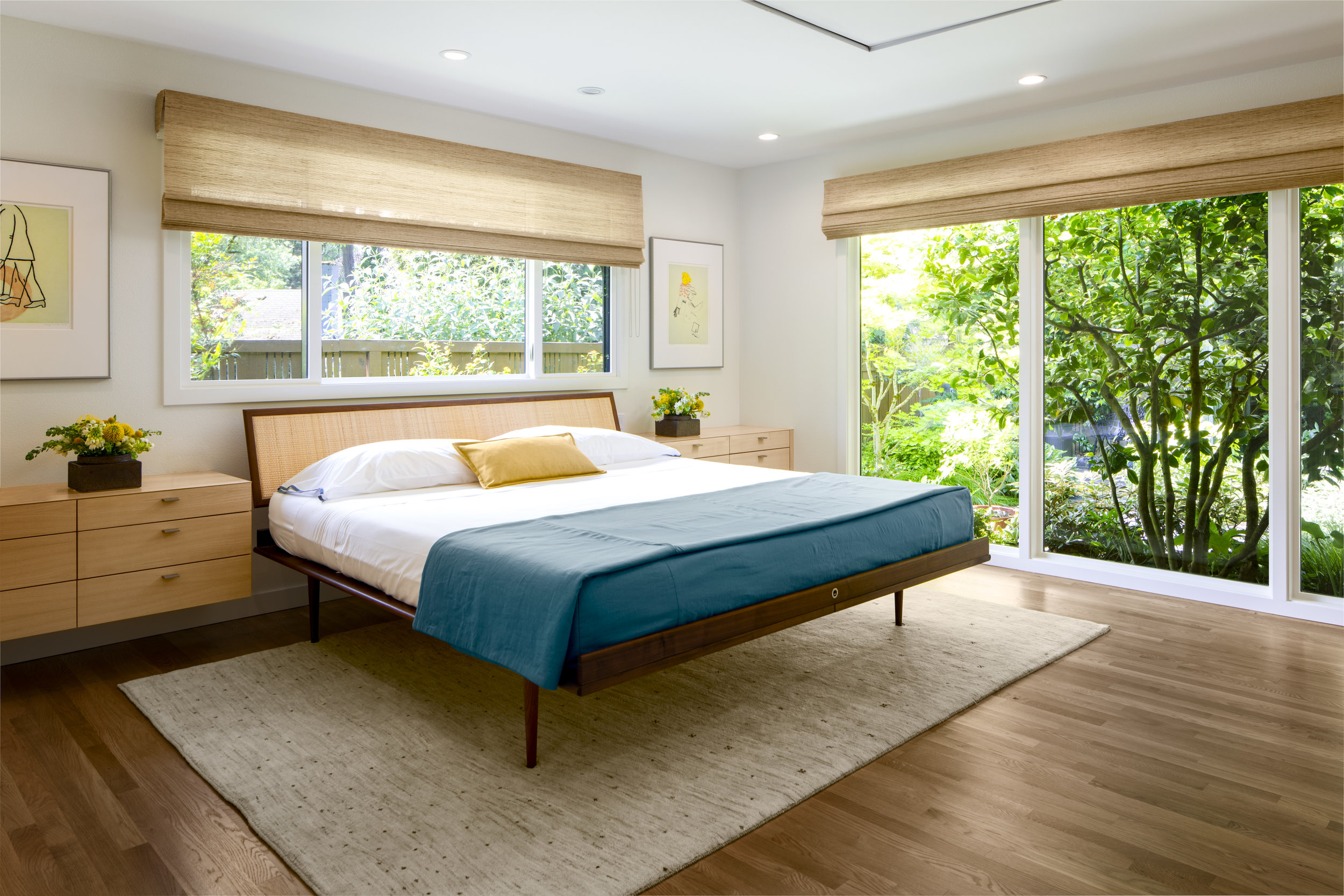 Portland Midcentury Master Suite
