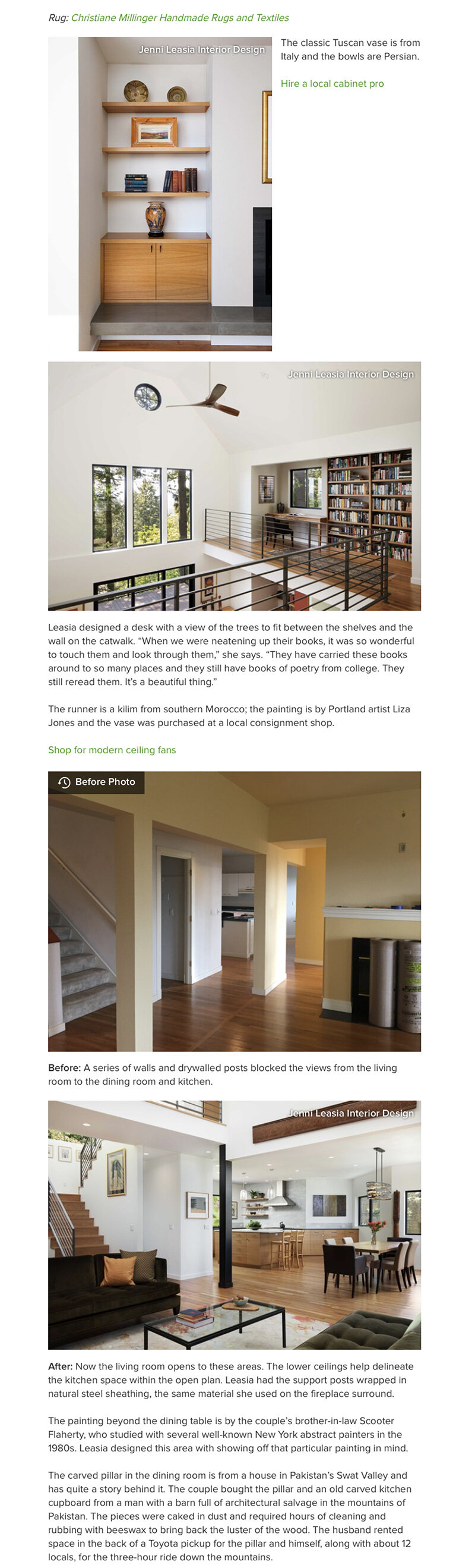 Featured On Houzz A Modern Remodel Of Hillside Home