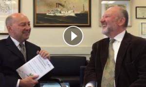 Interview with Adm. (Ret.) James Stavridis, Dean, Tufts Fletcher School, October 2016