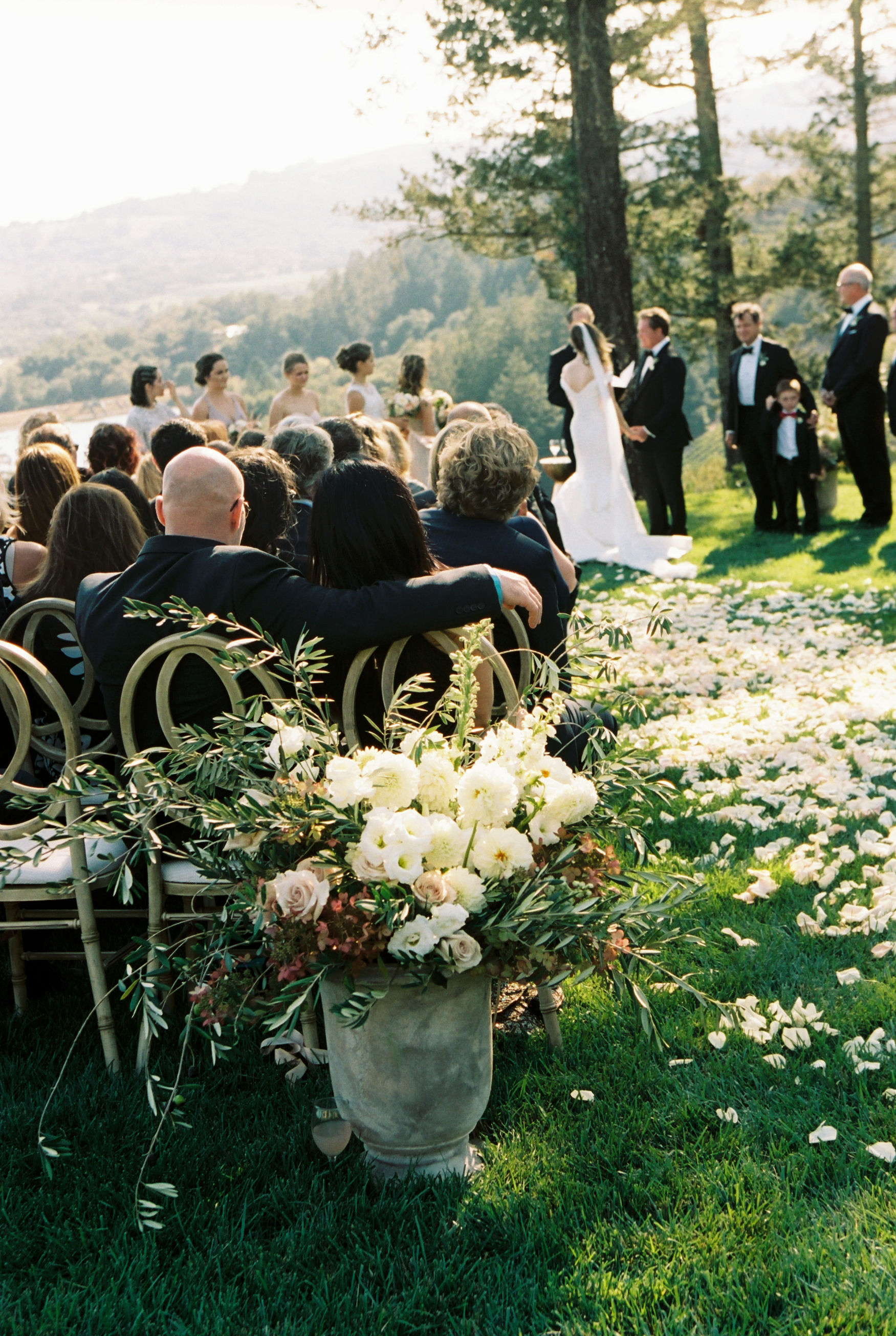 Dare to daydream -  End your vows with a look into the future. Share what excites you with a smile as you look into the days ahead and promise to be there for your spouse, in sickness and in health, for better or for worse. It will seal your sentiments with a ring of hope and leave everyone in the crowd beaming from ear to ear.