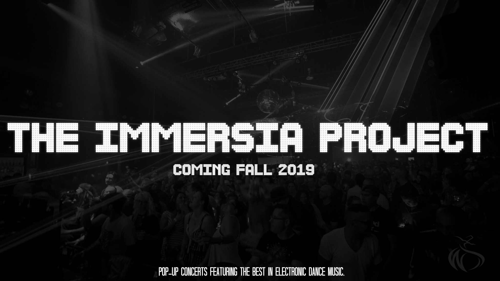 The Immersia Project  is the brainchild of  John Crenshaw  that brings the budding Electronic Dance Music scene to Central Texas in a way never seen before. Instead of big stadiums and daylight crowds,  Immersia  is held in an oldschool warehouse-style concert venue enlisting some of the biggest names in the EDM scene. Stay tuned for more!