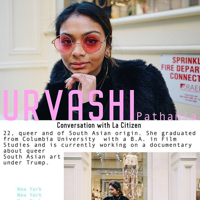 MEET @swurvashi : Filmmaker. We sat down with Urvashi and discussed film, politics and culture. The entire interview is live now at lacitizn.com ✨