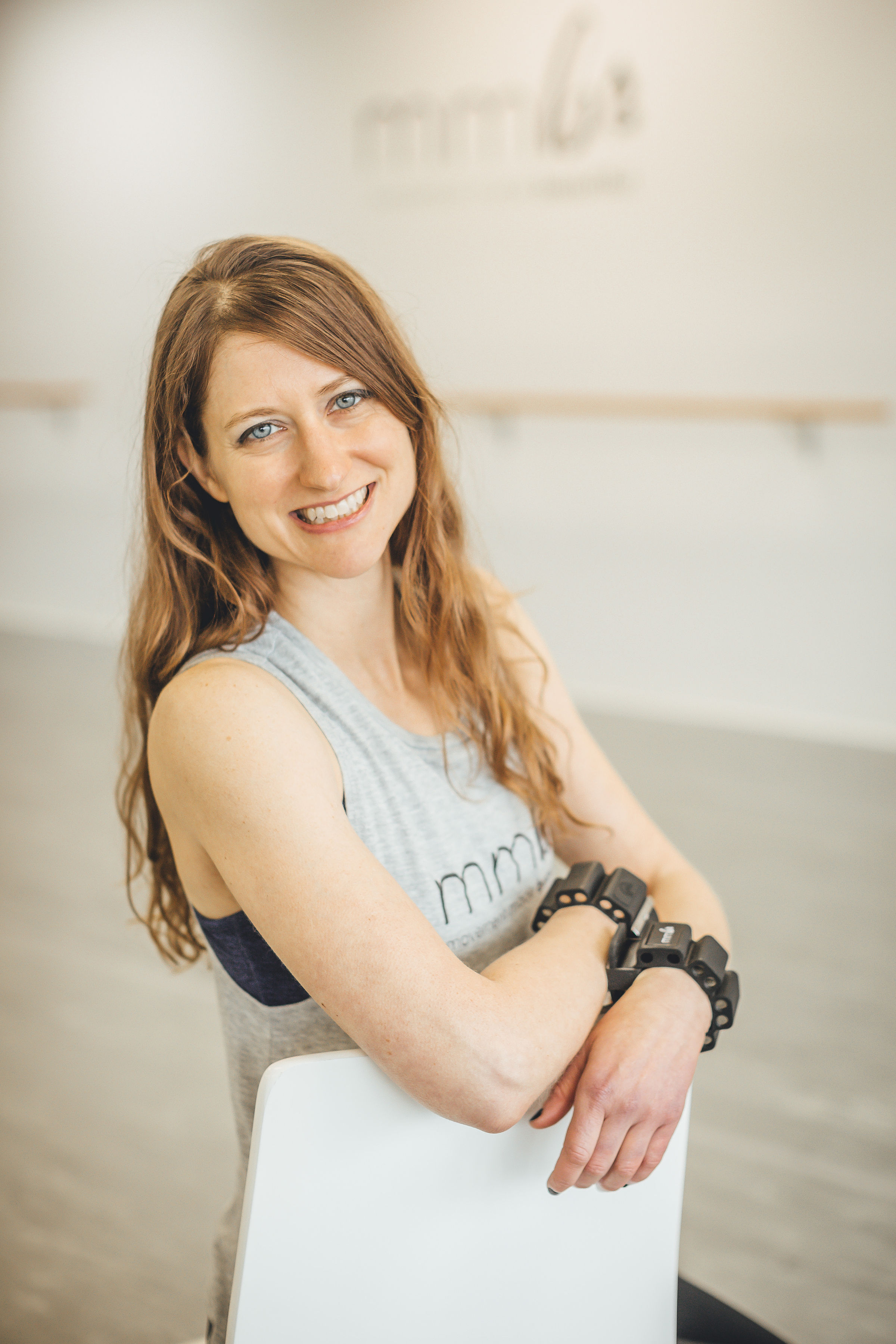Sara Maloney-Instructor of Cardio Dance and Barre-Sculpt. Sara is also a Vegan and a librarian! Her creativity and intelligence are beautifully integrated in the choreography she chooses to teach.