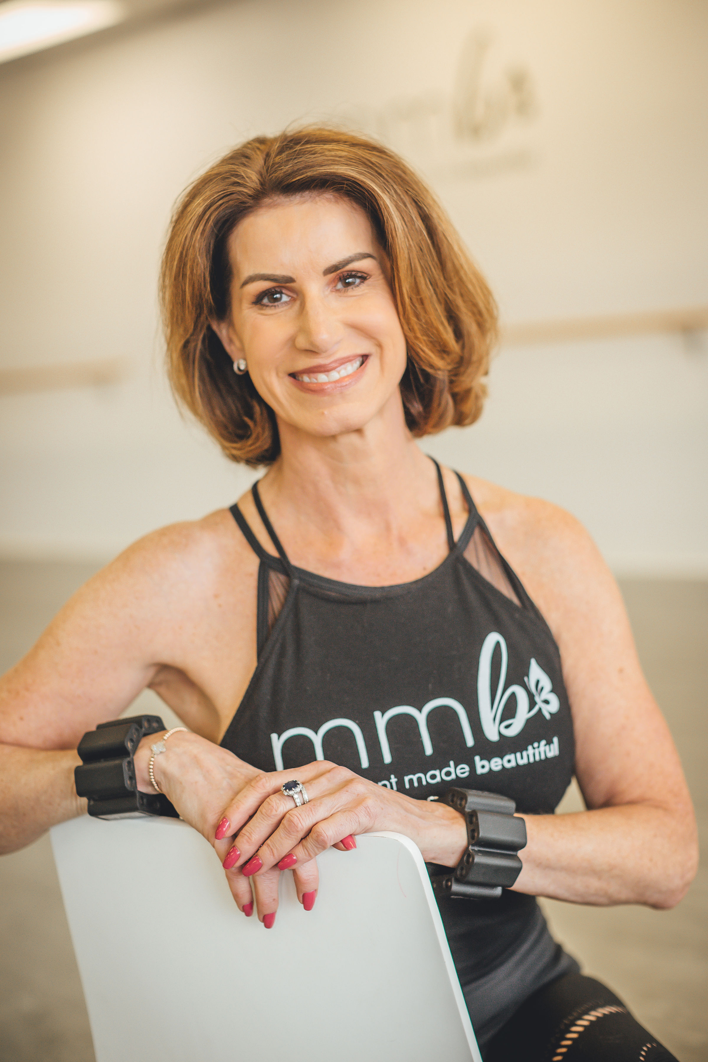Julie Graham-Instructor of Barre-Sculpt and Cardio Dance. Julie worked as a professional dancer for Ballet West and for the Milwaukee Ballet. Her grace and elegance are fun to watch and learn from.