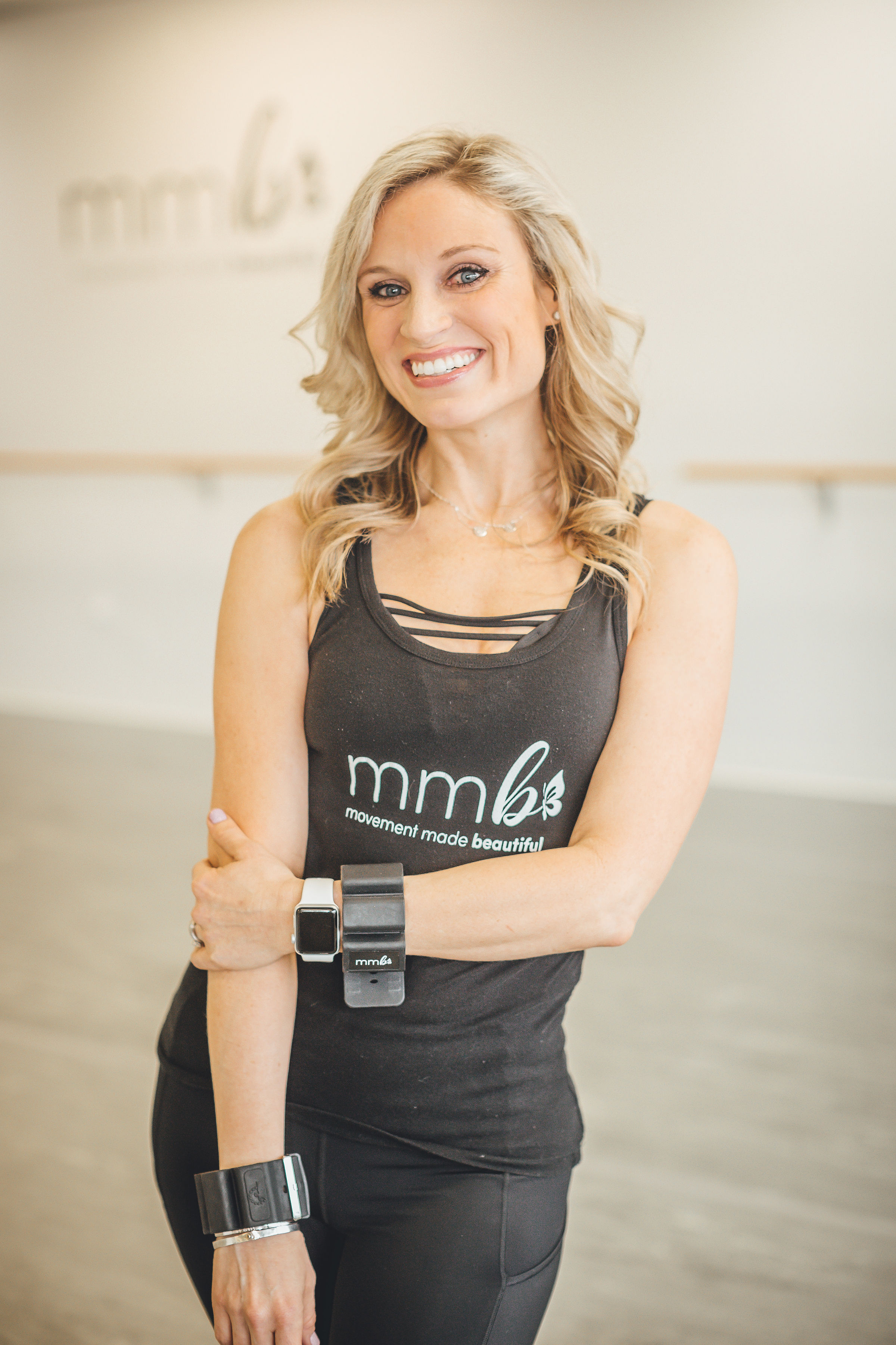 Ashley Sicinski-Instructor of Cardio Ballroom and Cocktails and Choreography. Ashley is trained in many styles of ballroom dance and has a beautiful knack for pulling them all together in a way for everyone to enjoy!