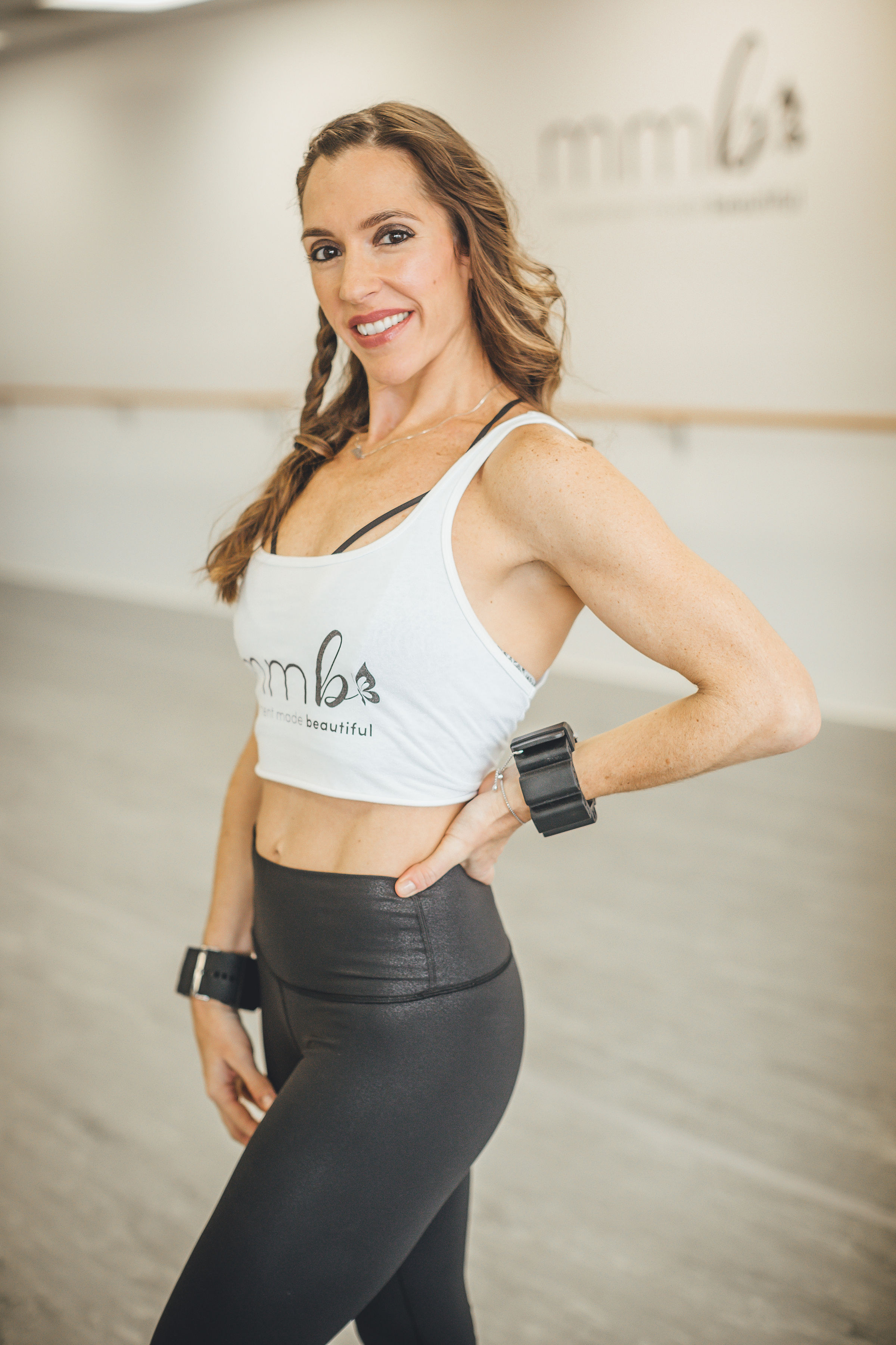 Abbi Pollyea-Owner and creator of Movement Made Beautiful. Instructor of Cardio Dance, Barre-Sculpt, Pilates, and Yoga. Lead Instructor and Choreographer for MMB.