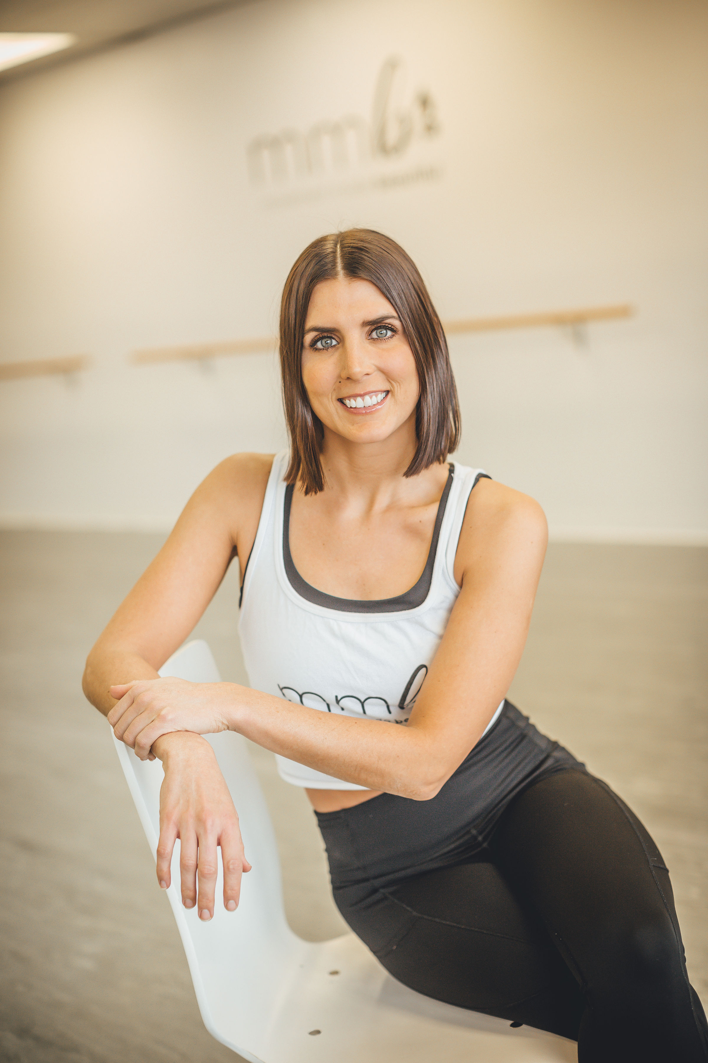 Carly Schultz-Instructor of Cardio Dance and Barre-Sculpt. Carly is a founding instructor at MMB and has been an integral part of the creation of our program. Her classes are both challenging and so completely creative,