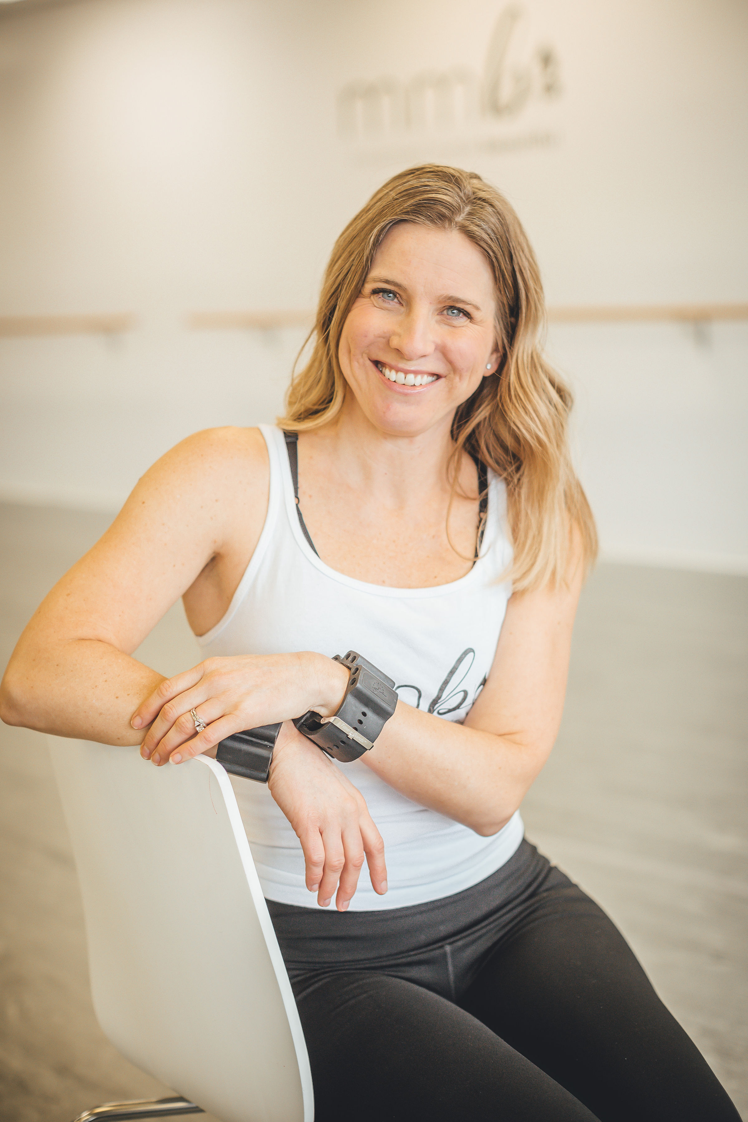 Natalie Haut-Instructor of Cardio Dance, MMB Kids, and Birthday Parties. Natalie also participates in creating social media for MMB. Natalie has a very a cheerful presence about her that is always welcoming to all who take classes from her or with her,